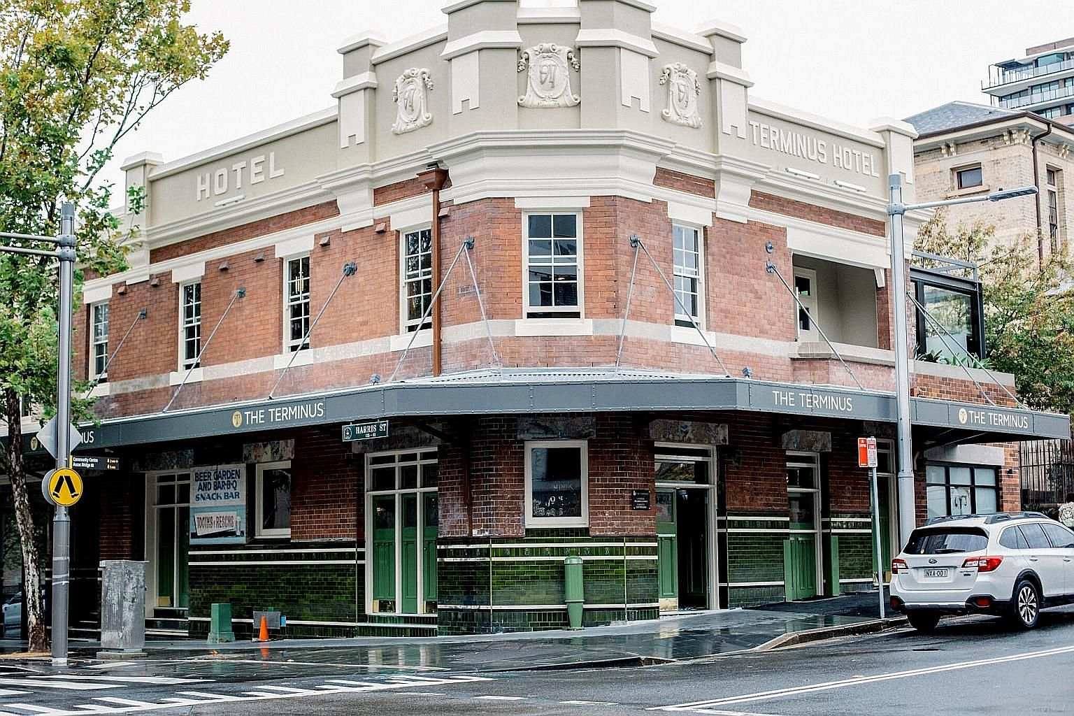The Nelson Hotel in Sydney's Bondi Junction opened in 1938 and the pub has retained its old-world charm, including art deco furnishings and tiled interior. The Royal Hotel in Bondi, which was founded in 1907, was recently bought by a hospitality and