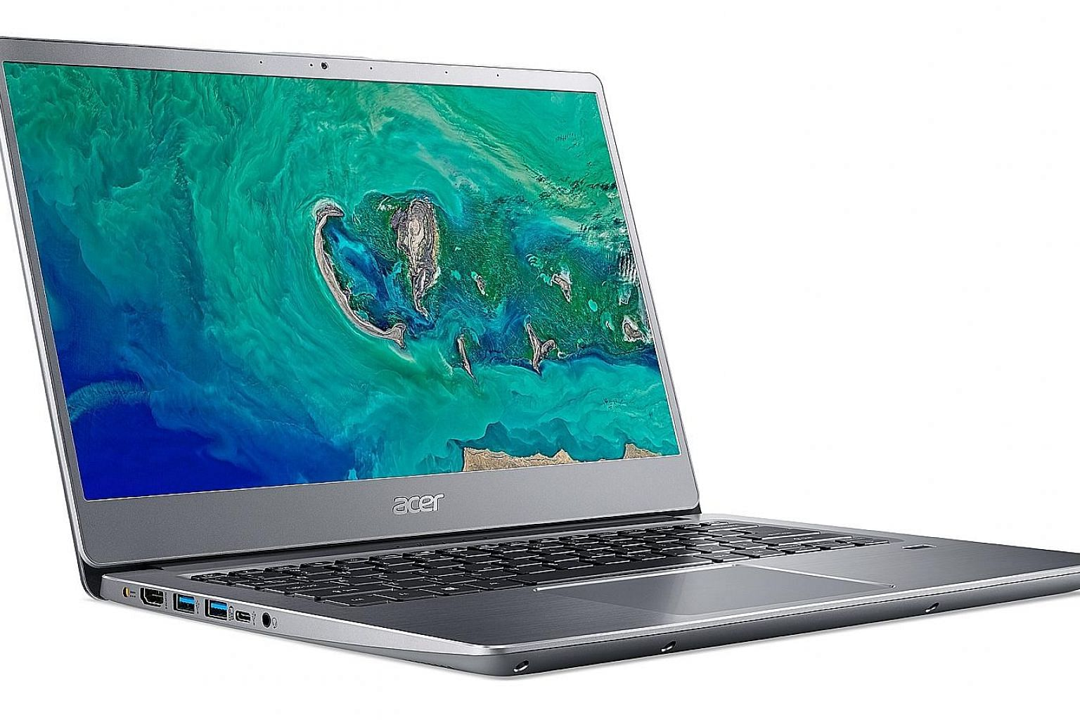 The Acer Swift 3 comes with features such as a fingerprint reader, full-HD IPS display, a backlit keyboard and a USB Type-C port.