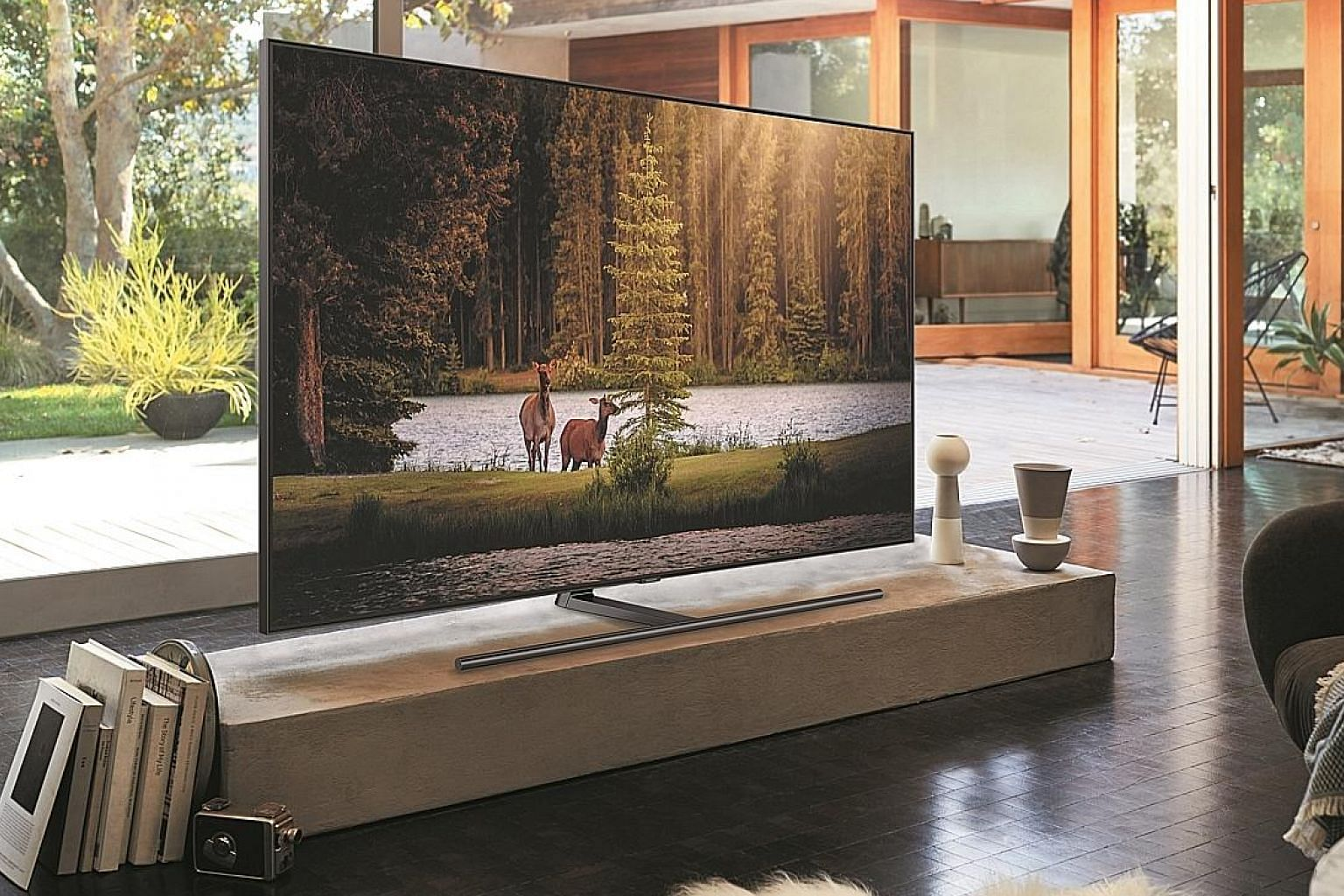 The Q9F looks best when playing high dynamic range (HDR) content such as 4K Blu-ray movies.