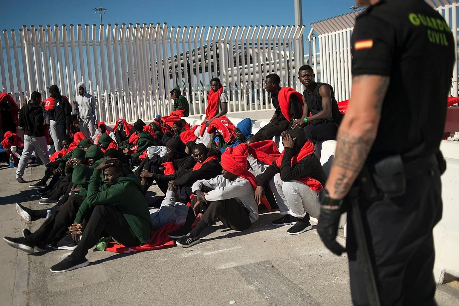 Spain has overtaken Italy as the preferred destination for migrant arrivals in Europe this year as a crackdown by Libyan authorities has made it more difficult for them to reach Italian shores. Spain has seen 24,000 arrivals in the first half of the
