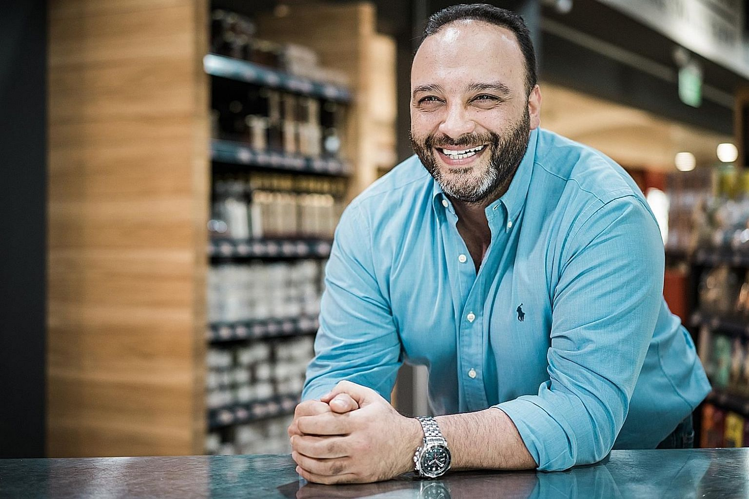 Little Farms' Fred Moujalli started the grocer's store because he felt that there was a gap in the Singapore market for fresh, high-quality and ethical produce.