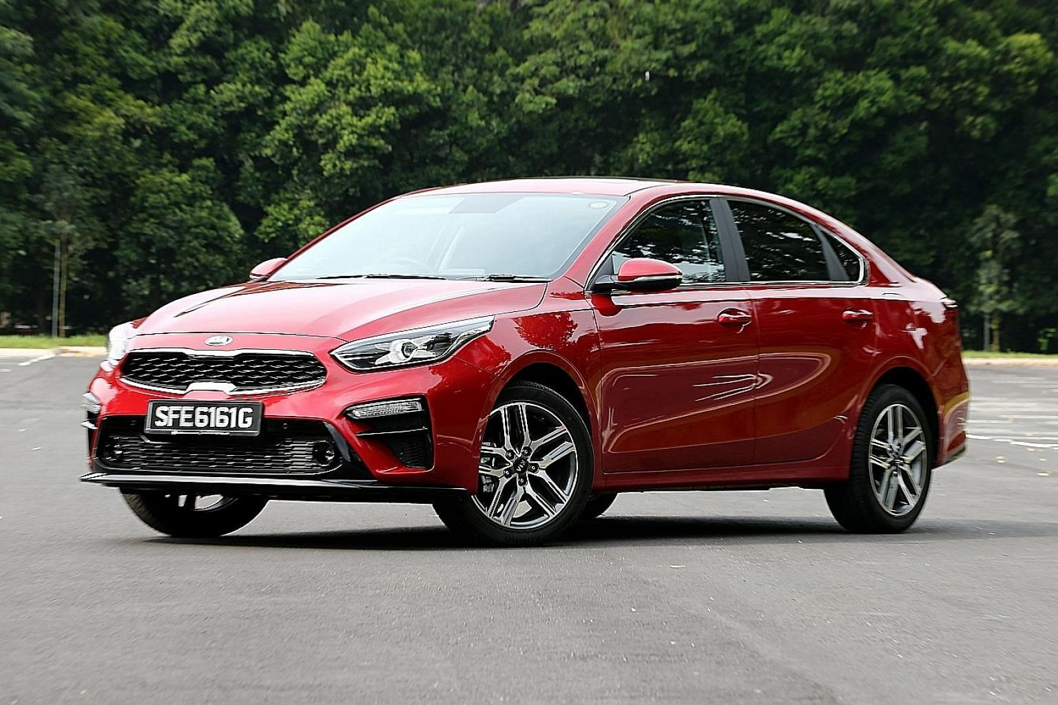 The Kia Cerato's boot offers 502 litres of stowage, which is equivalent to what some larger rivals pack.
