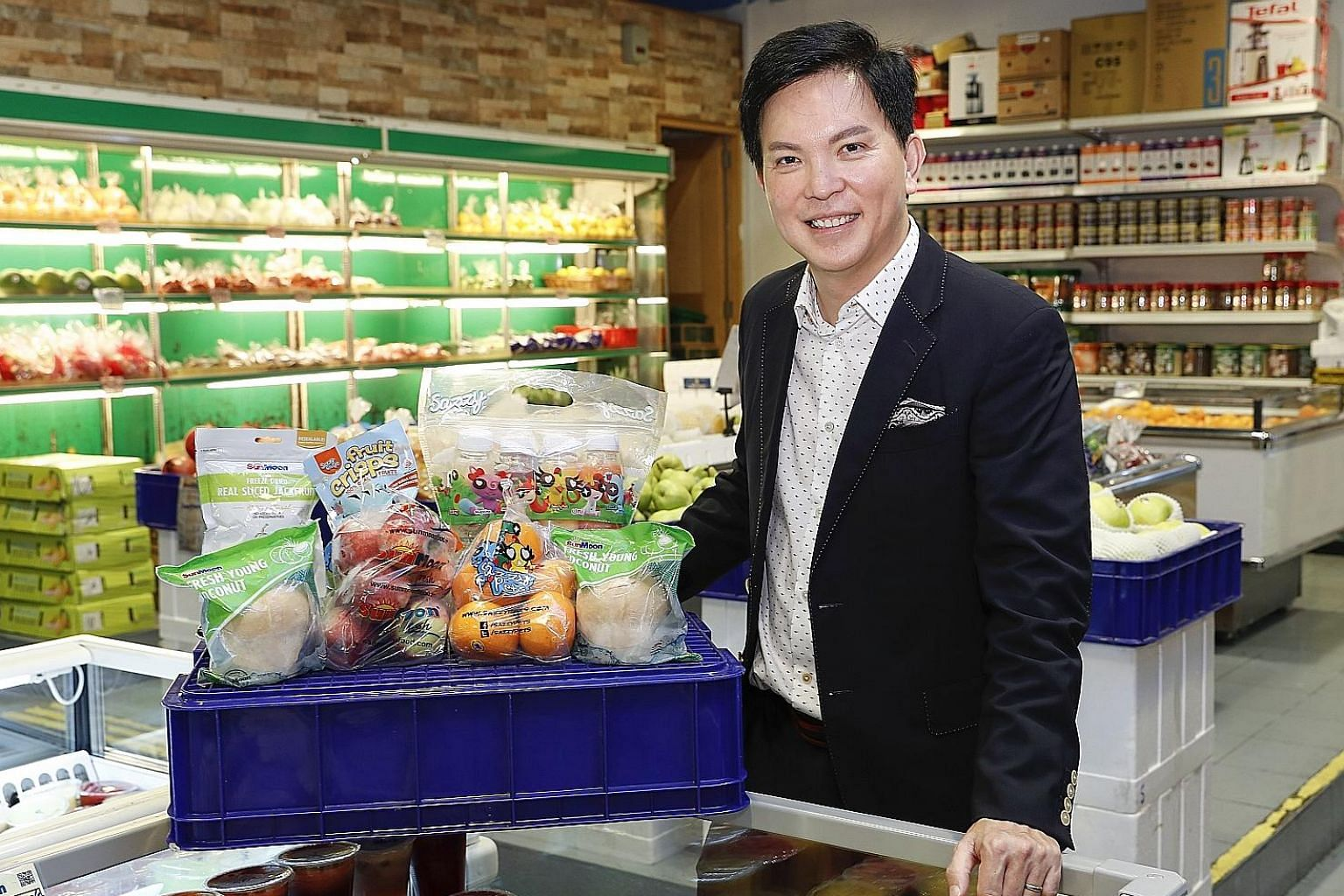 Mr Gary Loh, vice-chairman and chief executive of SunMoon, says his company aims to expand sales by widening its product range and penetrating new and existing markets via both traditional and online channels.