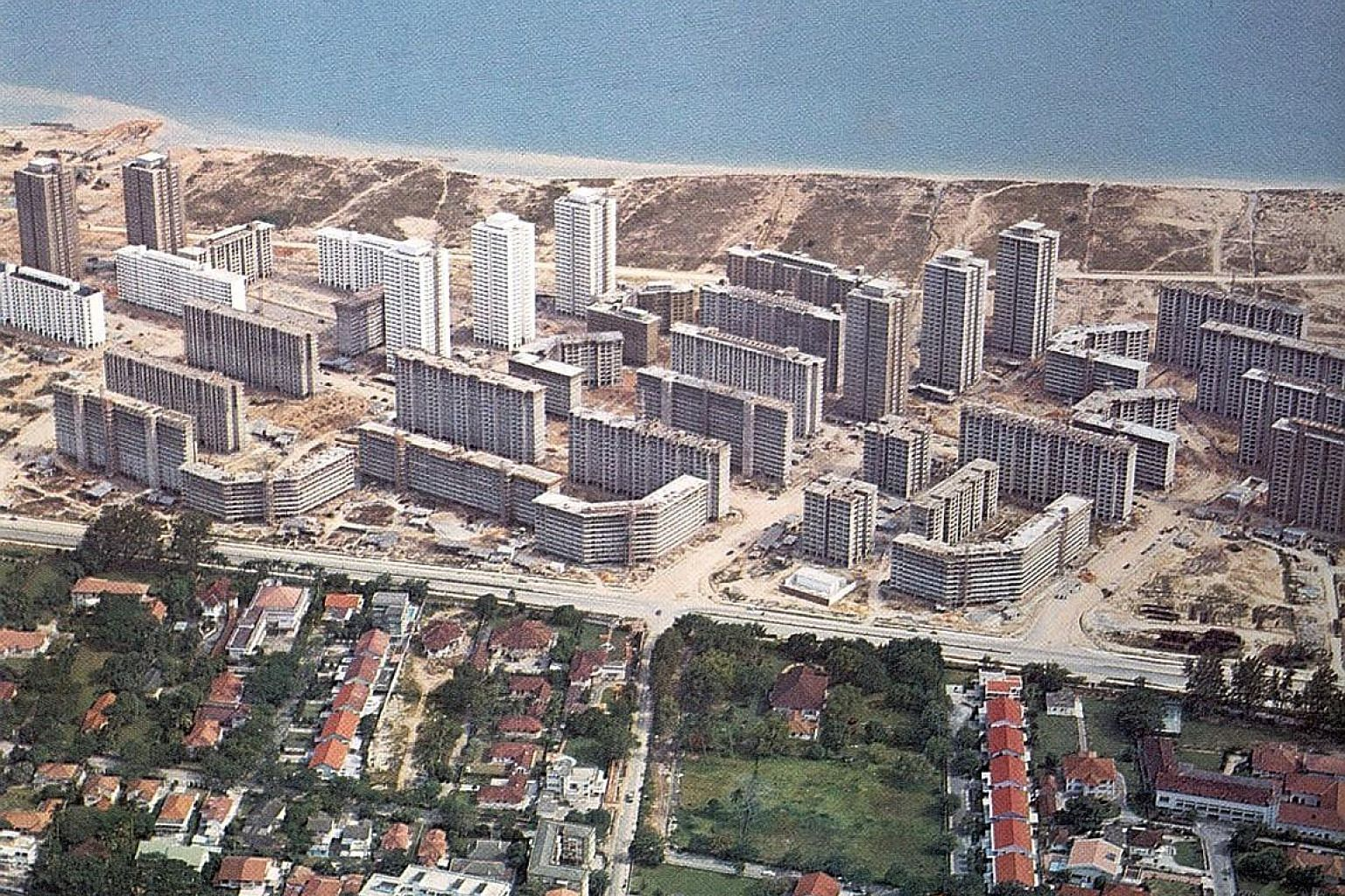The Marine Parade estate being developed in a hurry in the 1970s over just three years. But the work of redeveloping it should span decades.