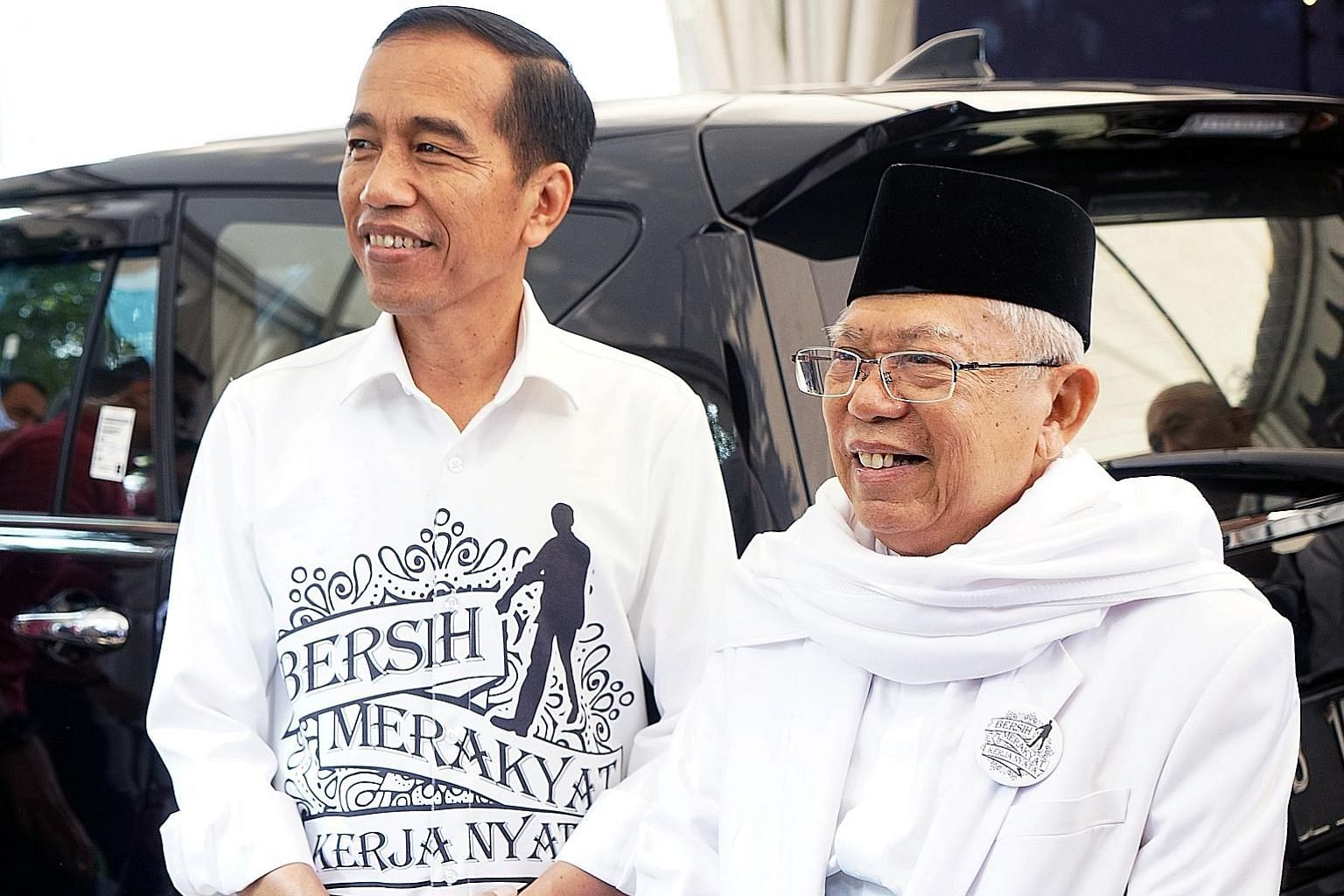 Mr Joko's running mate, Dr Ma'ruf Amin, backed the blasphemy case against former Jakarta governor Basuki Tjahaja Purnama.