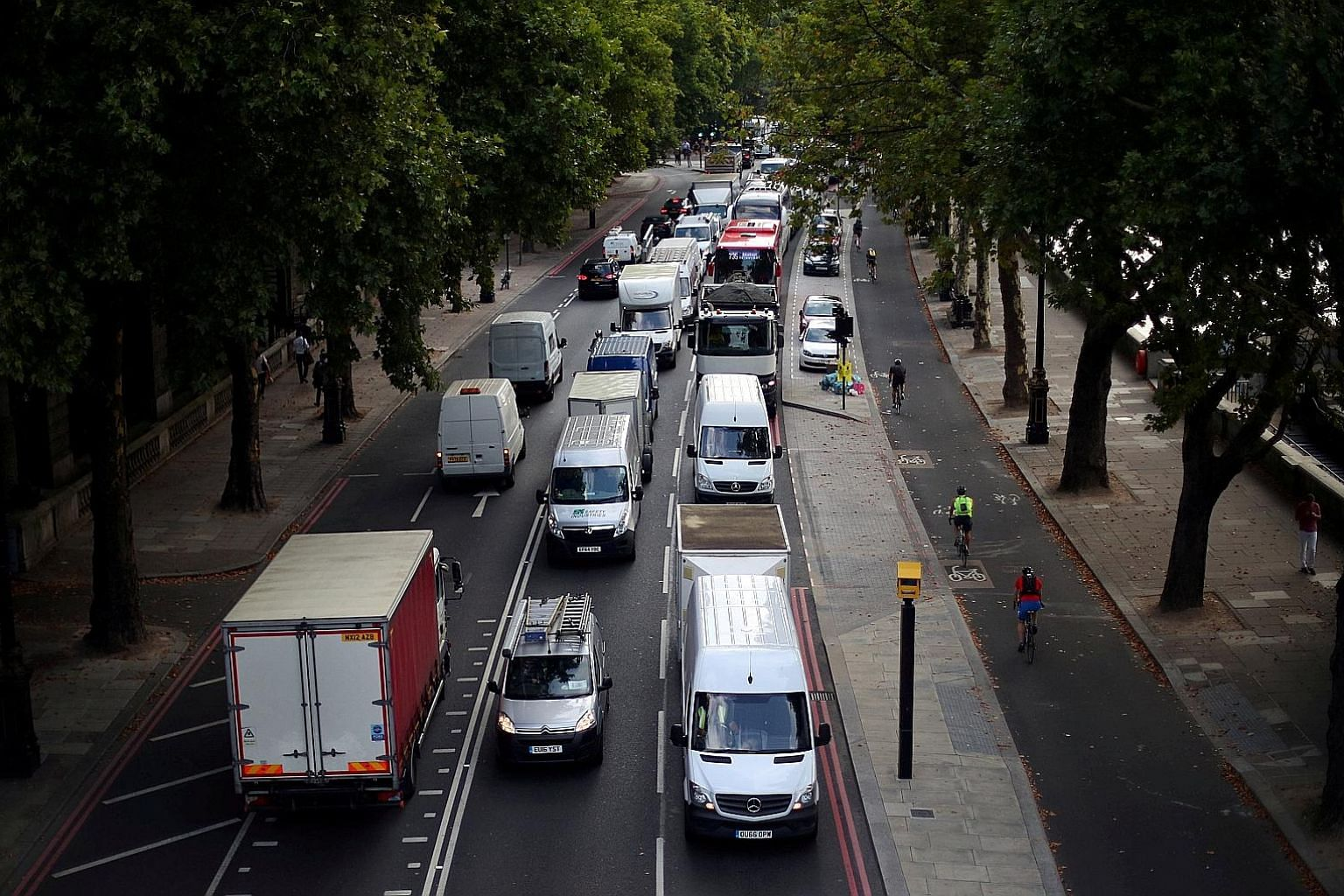 Although London's air often appears clear to the naked eye, the city has suffered from illegal levels of air pollution since 2010, with particularly dangerous levels of nitrogen dioxide, which comes mainly from diesel vehicles. This is despite dramat