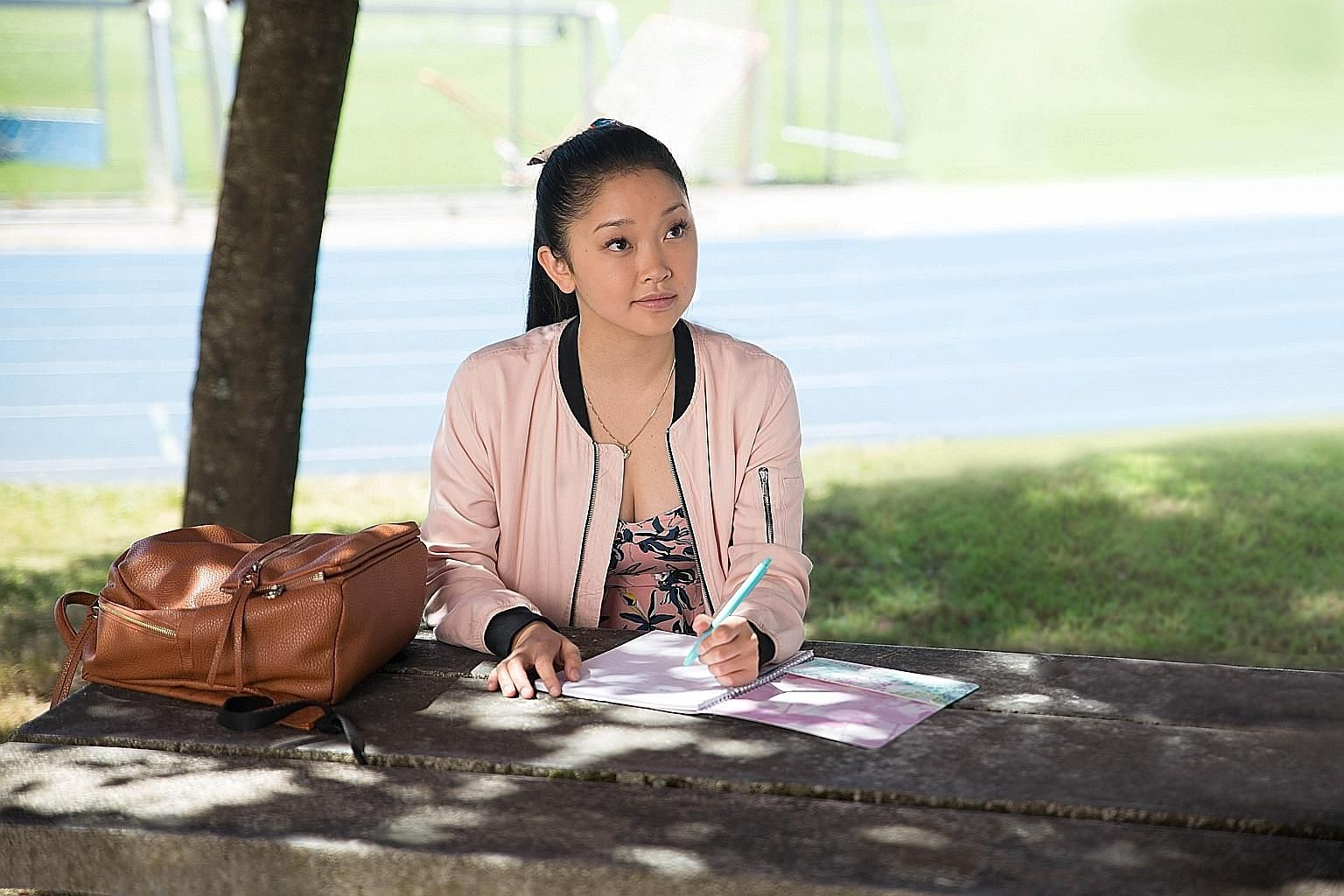 Lara Jean's (Lana Condor) love letters to her crushes, which she never intended to send, are suddenly delivered to them in To All The Boys I've Loved Before.