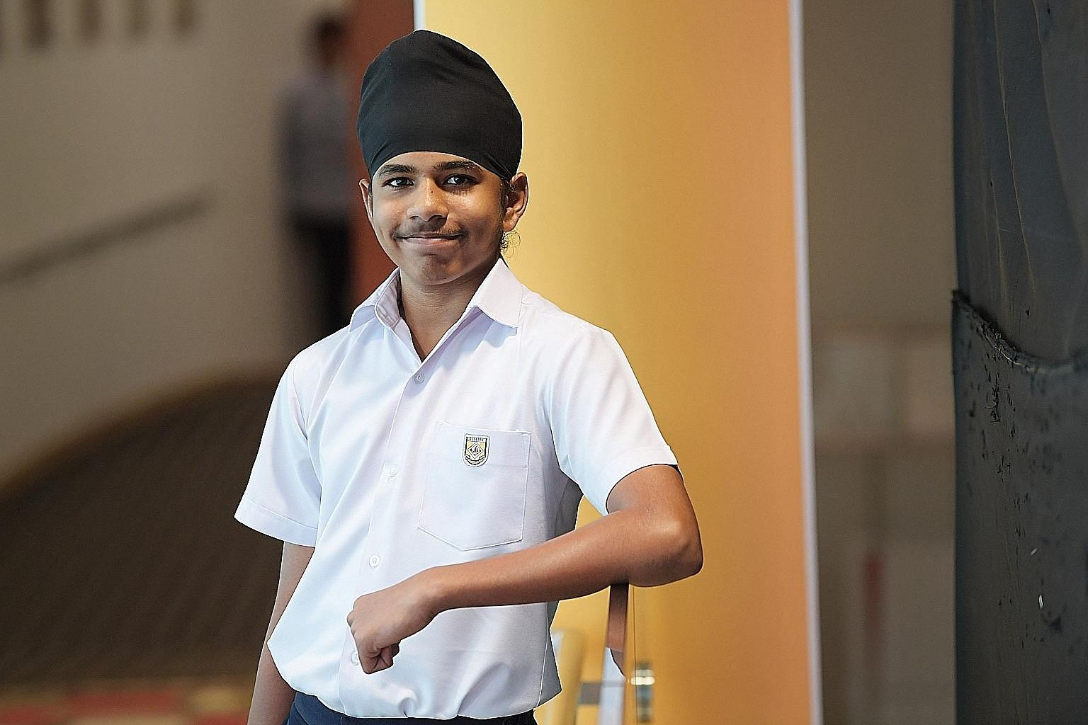 Dunearn Secondary student Jagjeet Singh, 13, registered a marked improvement in his grades for English, mathematics and science in his PSLE, and now harbours dreams of becoming an engineer.