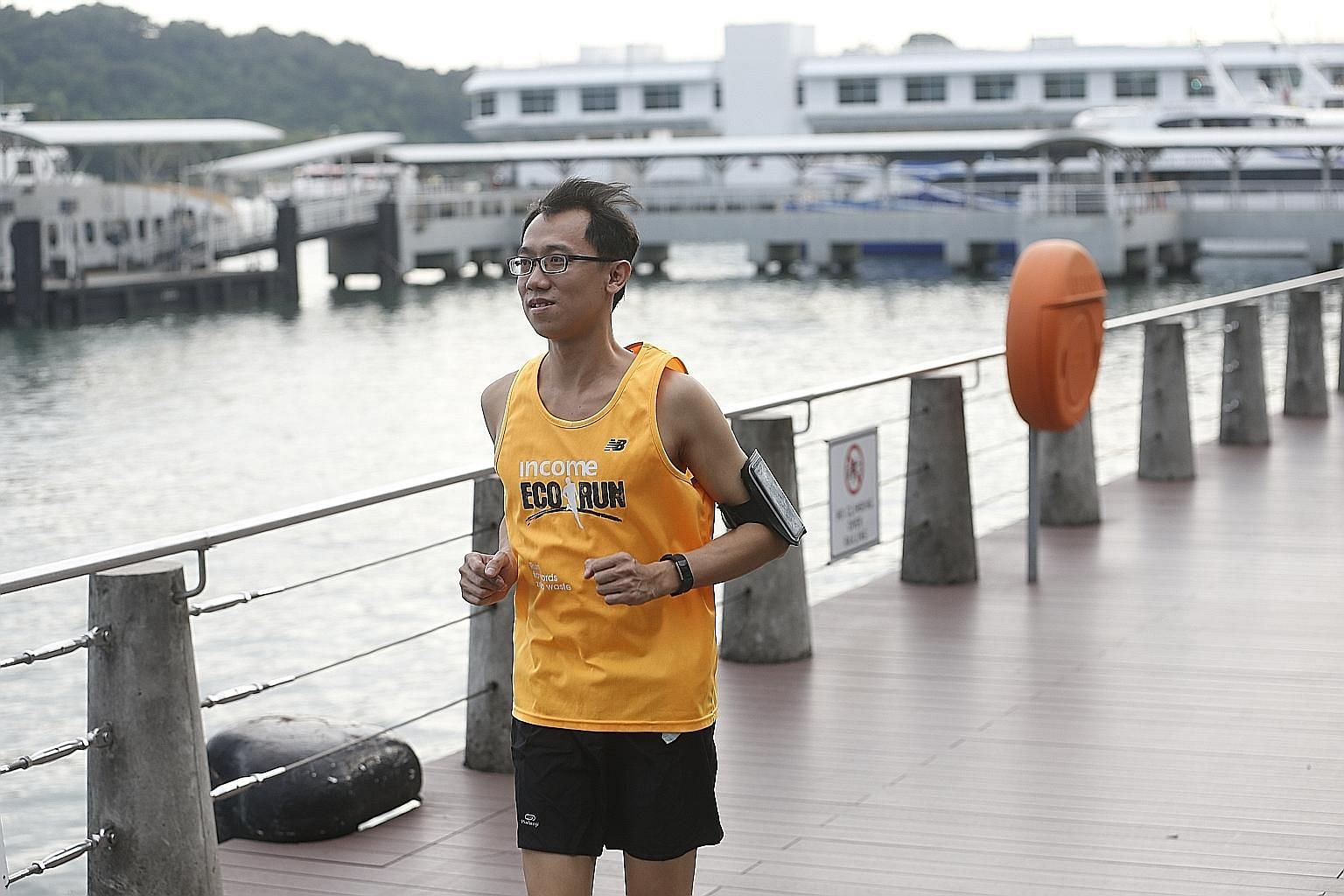 Financial adviser Mak Kwok Fai will take part in his first The Straits Times Run next month, 10 years after the stroke that left him in a wheelchair for a few months. He will be running 10km with a group from the Singapore National Stroke Association