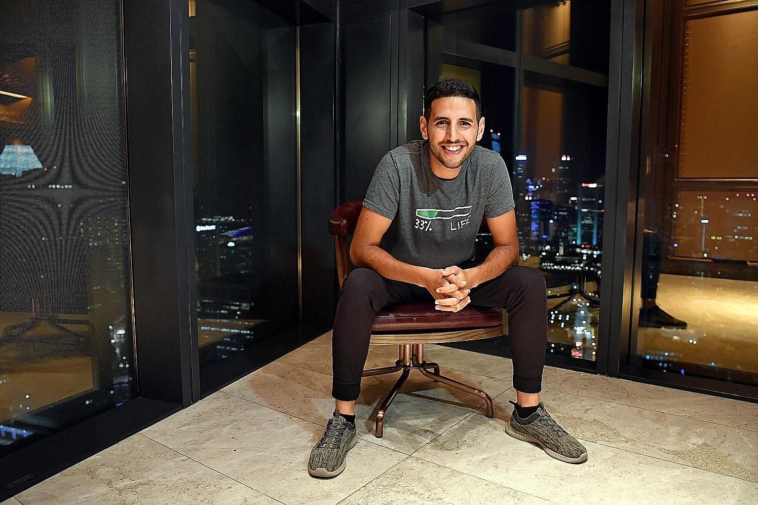Palestinian-Israeli Nuseir Yassin grew up in the north of Israel, got a scholarship to Harvard and became a software engineer in New York City before leaving the corporate life to travel. He has set a target of posting one video a day for 1,000 days