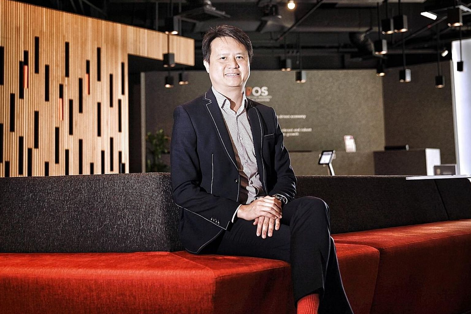 """IPOS chief executive Daren Tang says: """"I joke that we are a weapons specialist to help other people, whether they are financiers, other government agencies or entrepreneurs to hunt faster for more exotic prey."""""""