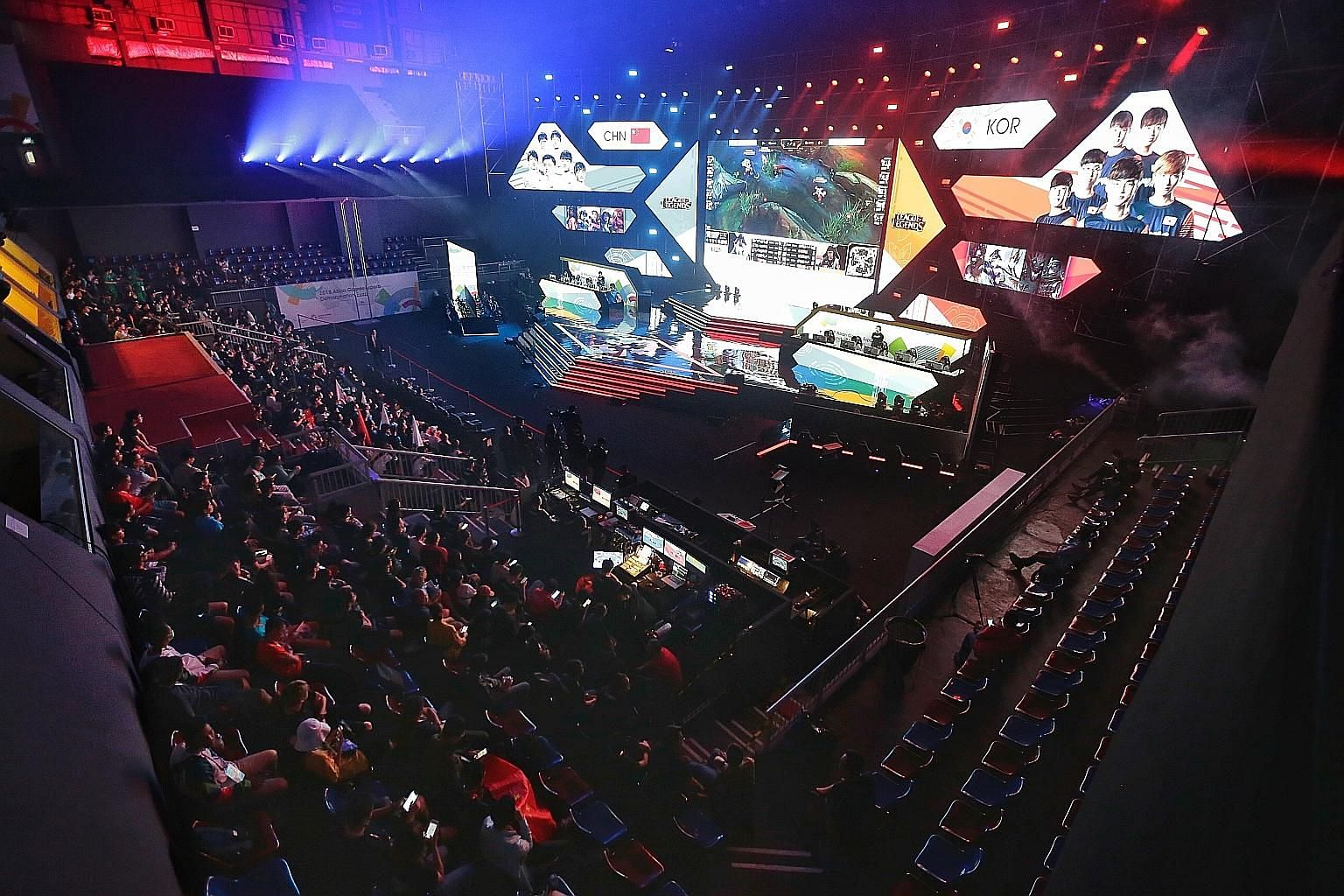 Making its appearance at the Asian Games in Jakarta as an exhibition sport, e-sports will debut as a medal event when the next Asian Games are held in China in 2022.