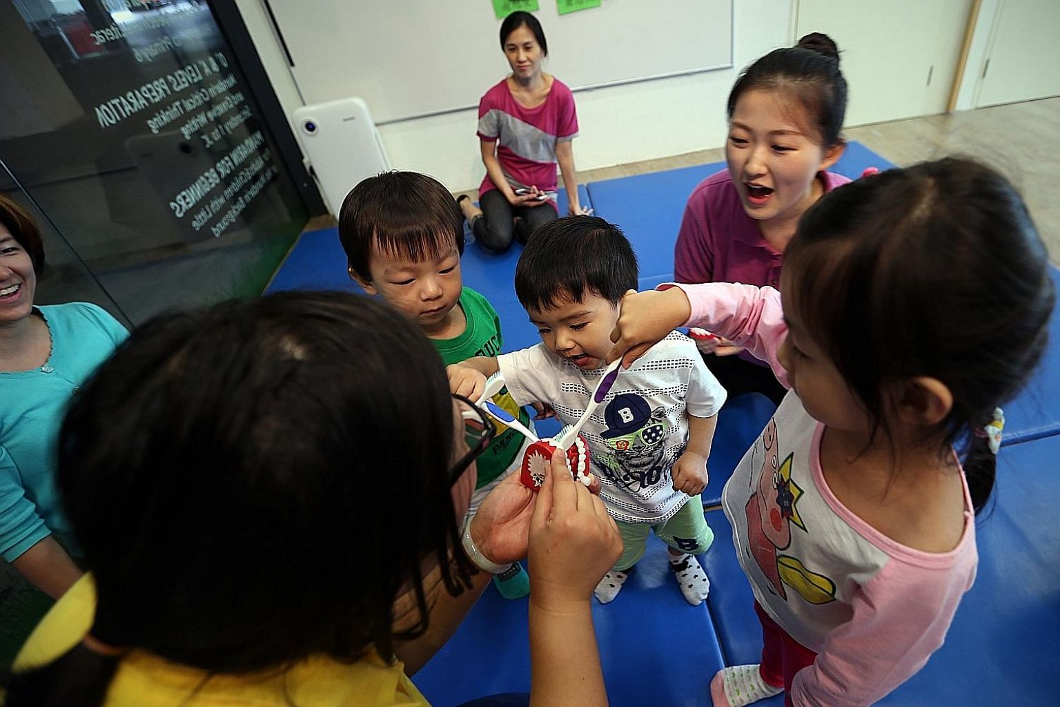 Instead of paying a premium for enrichment classes, parents can send their children to cheaper alternatives, such as classes at community centres.