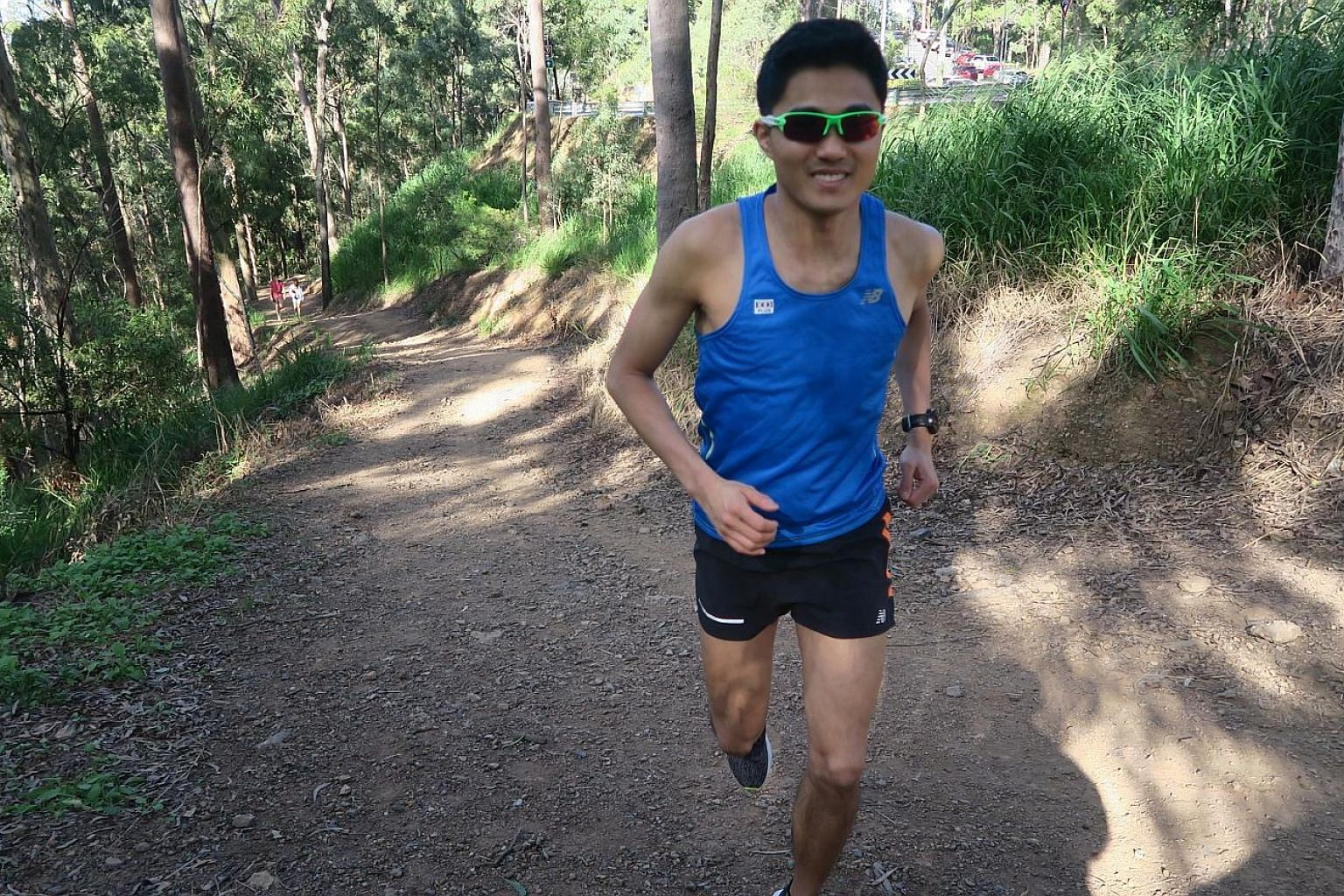 Mok Ying Ren incorporated hill training into his routine while in Brisbane, Australia. Train wisely to reap great benefits from such arduous workouts, he advises.
