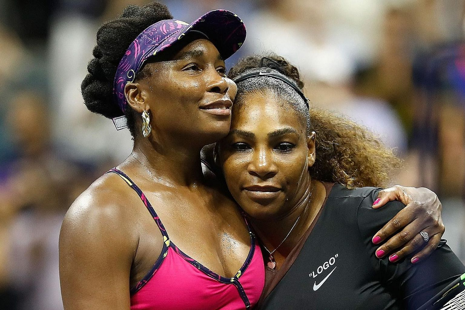 For Serena Williams (right) and her sister Venus, the story continues for now - as does their rivalry on the court.