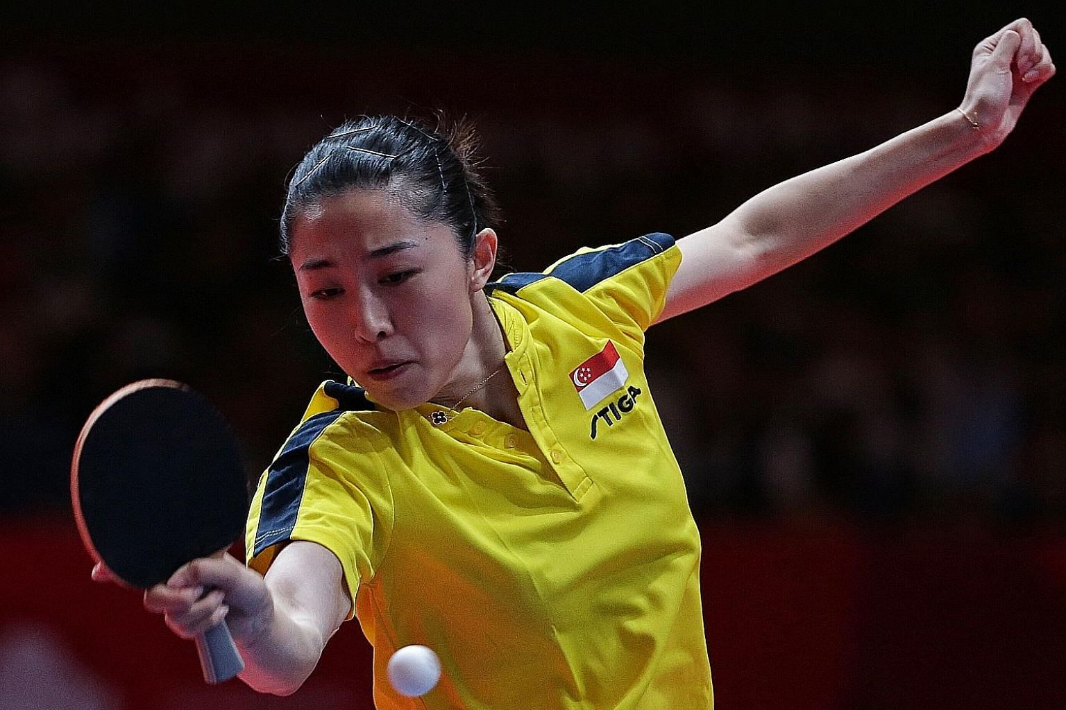 Things could well be looking up for Yu Mengyu, ahead of the 2020 Tokyo Olympics, after she won joint bronze in the table tennis singles - her first Asiad individual medal and Singapore's only medal in the sport at these Games.