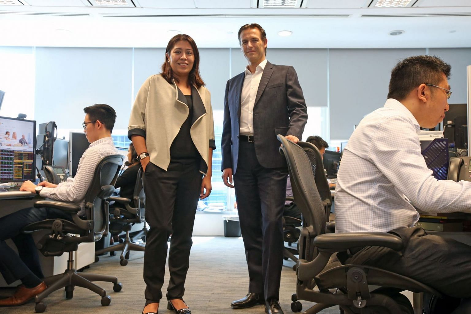 NN Investment Partners executives Gopi Mirchandani and Joep Huntjens say investors should consider Asia and emerging market corporate bonds, given their more attractive valuations, as well as the improving trend of credit fundamentals for the corporate se