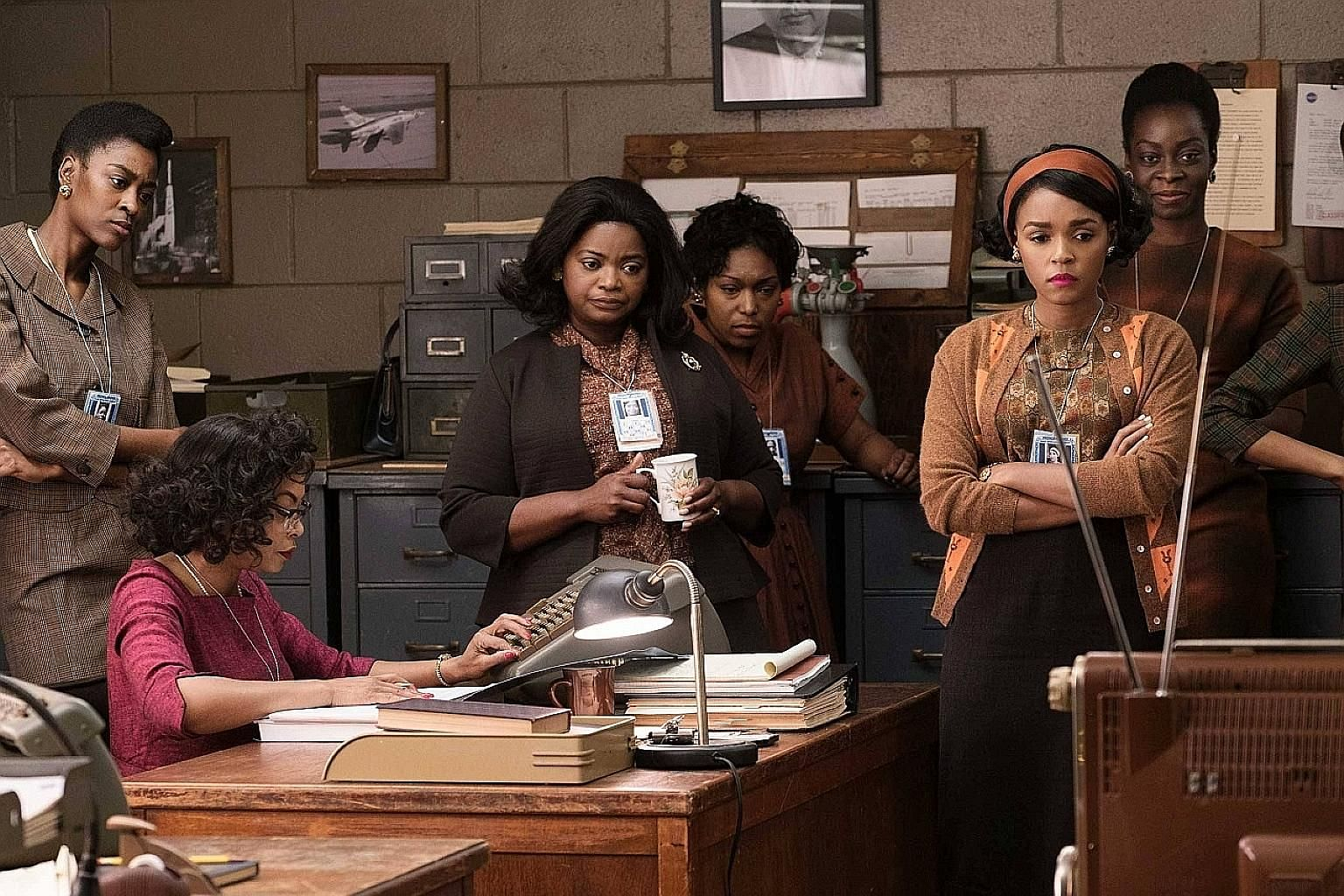 Movies based on true stories, such as Hidden Figures (2016, left), have been attacked for taking liberties with history.