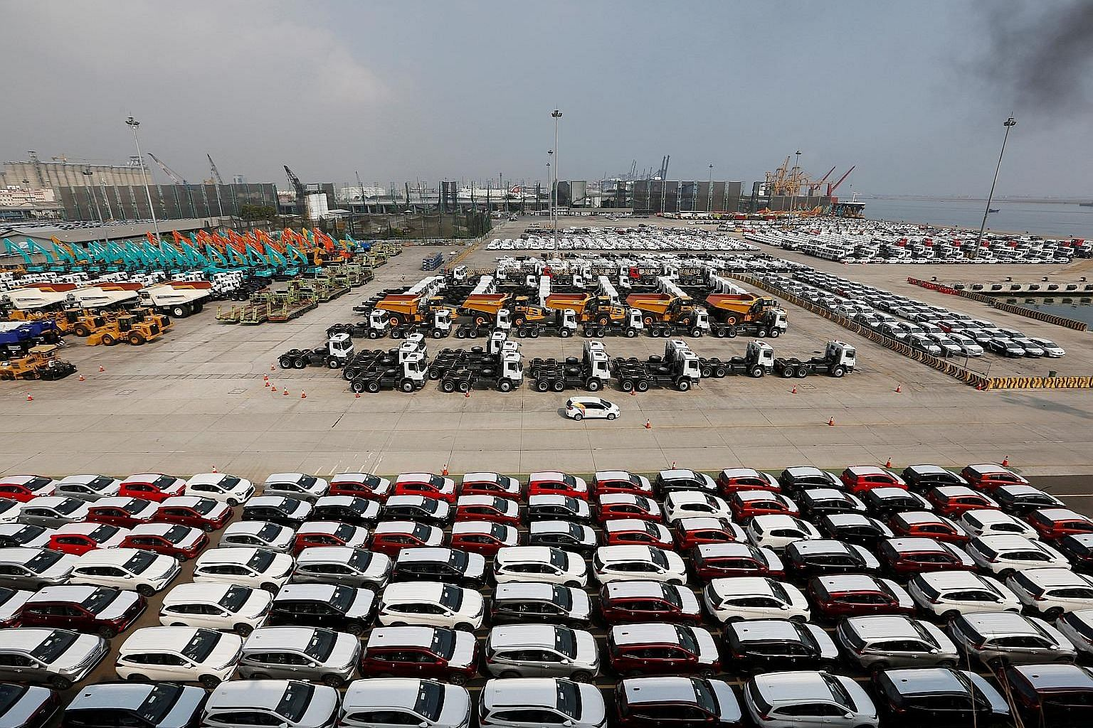 Taxes on about 1,140 types of imported goods, including cars and motorcyles, have been raised.