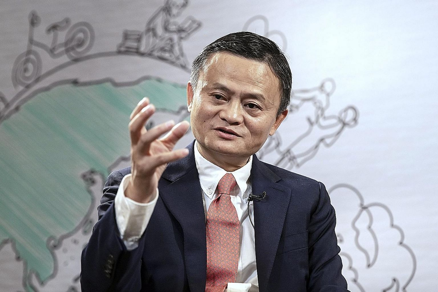"If Alibaba co-founder Jack Ma were to leave the company, it would remain controlled by its partnership structure, a system which he says will ""make the company last long""."