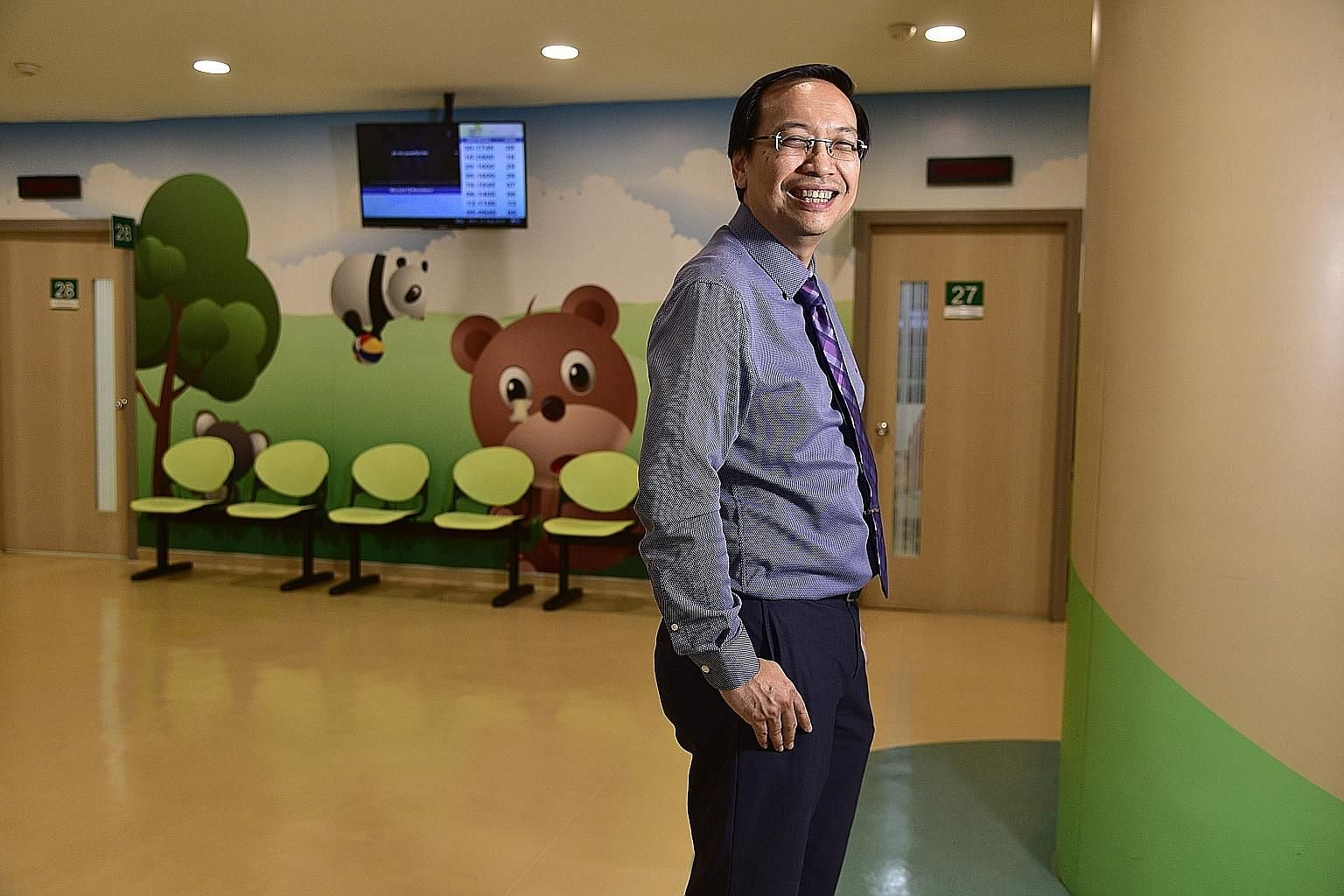 Dr Daniel Fung says it is still a challenge fighting the social stigma surrounding mental illness in Singapore.