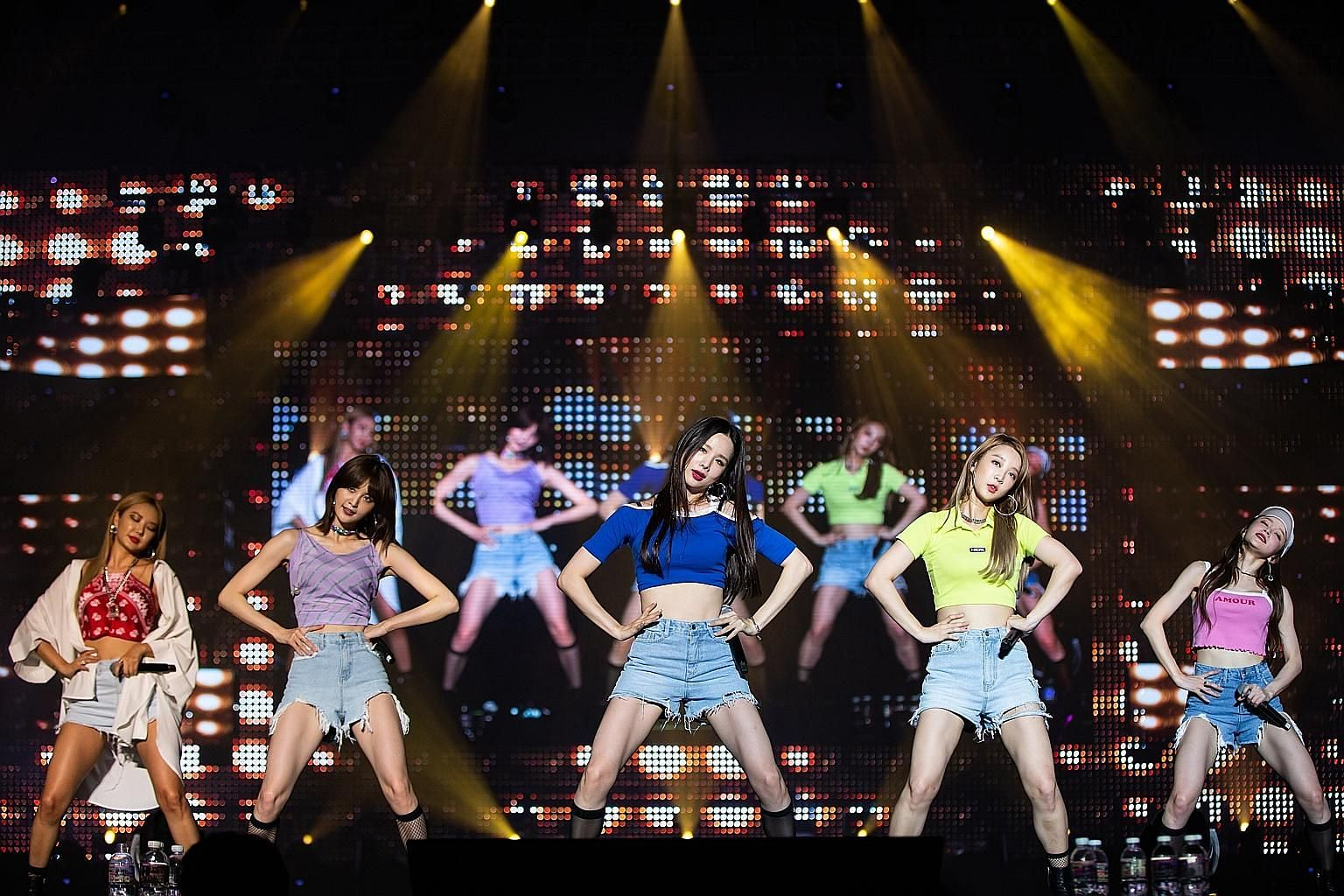 Exid's performance did not have a single boring moment.