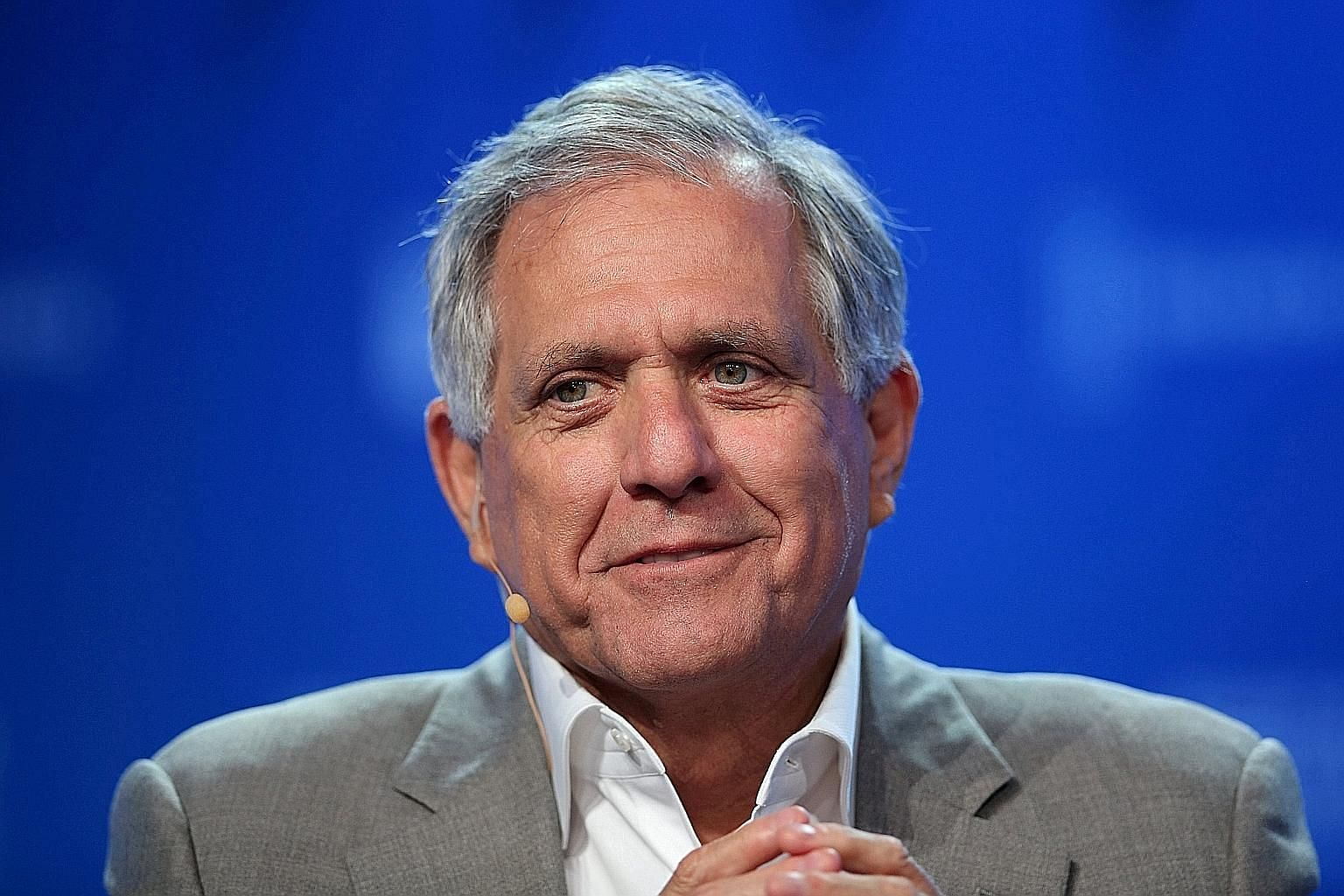 Mr Leslie Moonves stepped down on Sunday after The New Yorker magazine published another article in which six more women detailed claims of sexual harassment against him.
