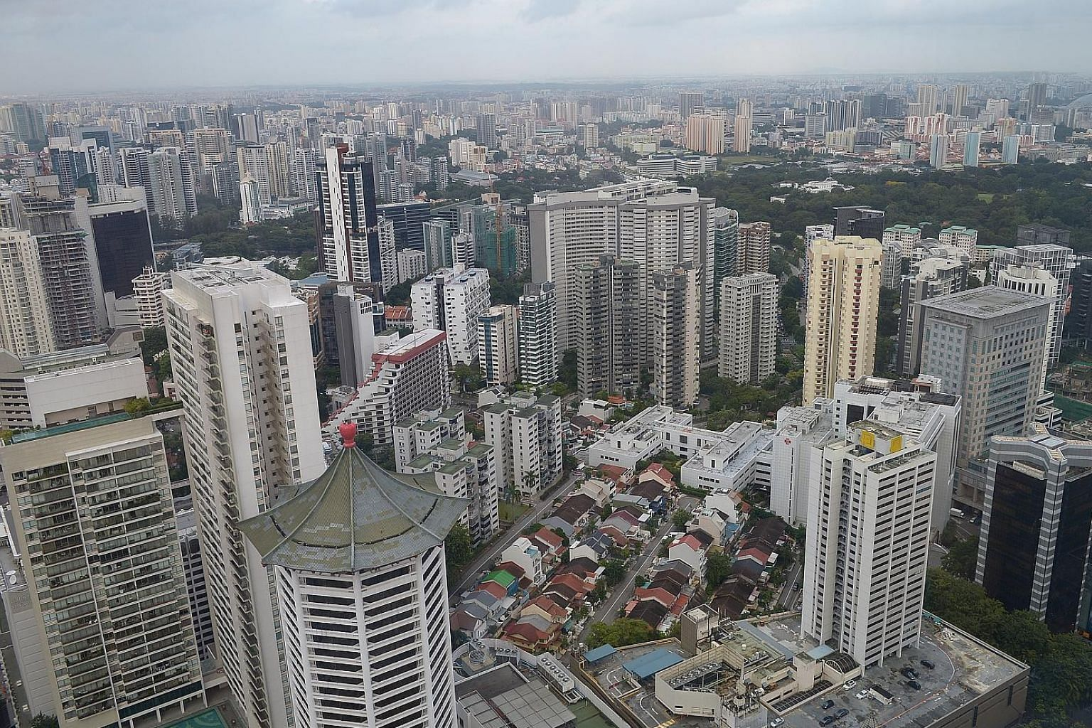 The resale prices of units in the city fringe or Rest of Central Region fell 1.6 per cent from July, while those in the prime district or Core Central Region fell 0.3 per cent. These are homes more likely bought for investment or speculative purposes