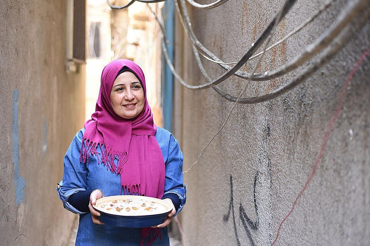In Soufra, Mariam Shaar founds a catering unit that provides employment and income to her fellow refugees in Lebanon.
