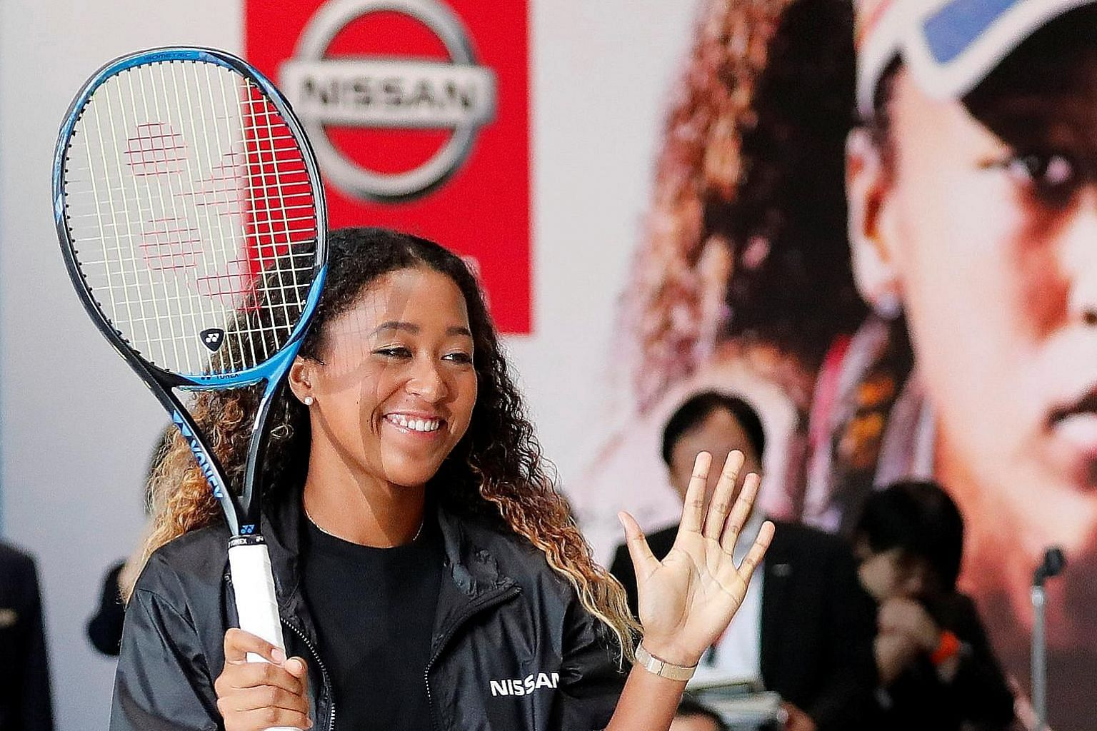 Newly crowned US Open champion Naomi Osaka, the world No. 7 who is Nissan's new brand ambassador for the next three years, is aiming to break into the top five by the year end and also reach the season-ending WTA Finals in Singapore from Oct 21-28.
