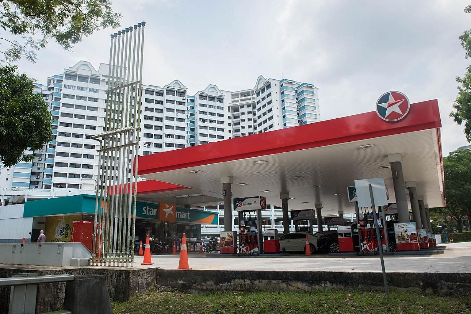 PetroChina-owned SPC looks set to take over this Bukit Batok site on a 30-year lease by the end of the year. American oil giant Chevron, which is currently operating a Caltex station here, made the second highest bid of $77.3 million.