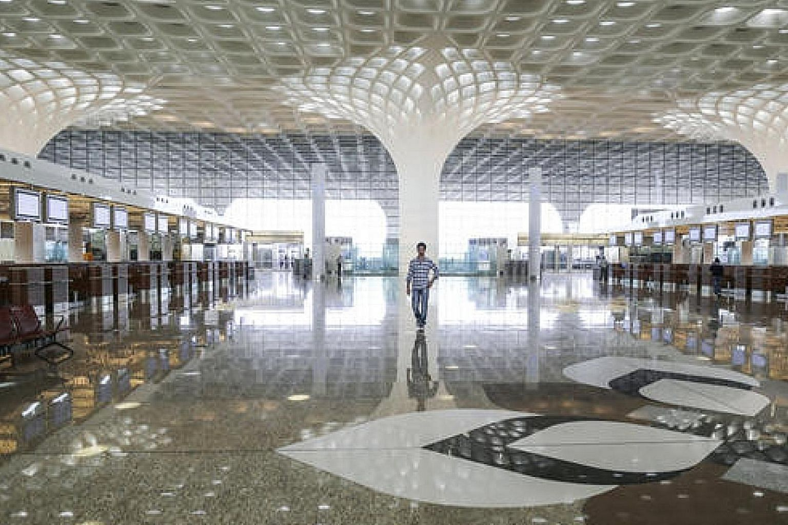 Mumbai's Chhatrapati Shivaji International Airport's Terminal 2. Mumbai is expected to have a second airport by September 2021.