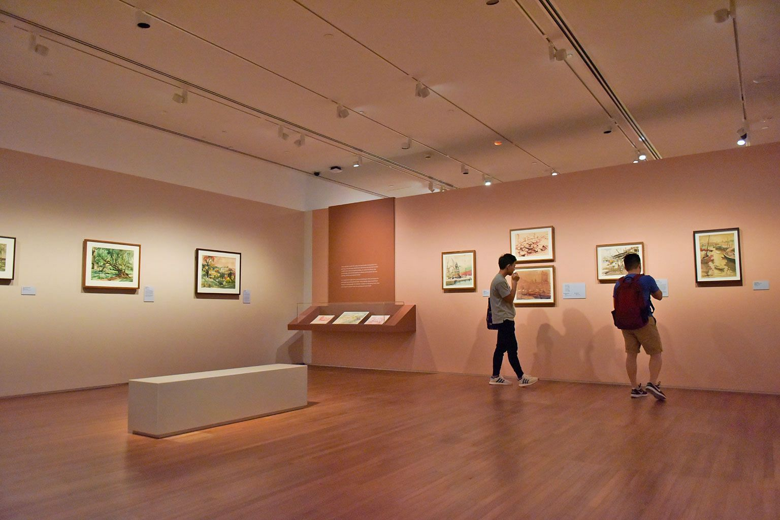 Artworks at the National Gallery Singapore are spread out over an area of 64,000 sq m and navigating one's way can be difficult.