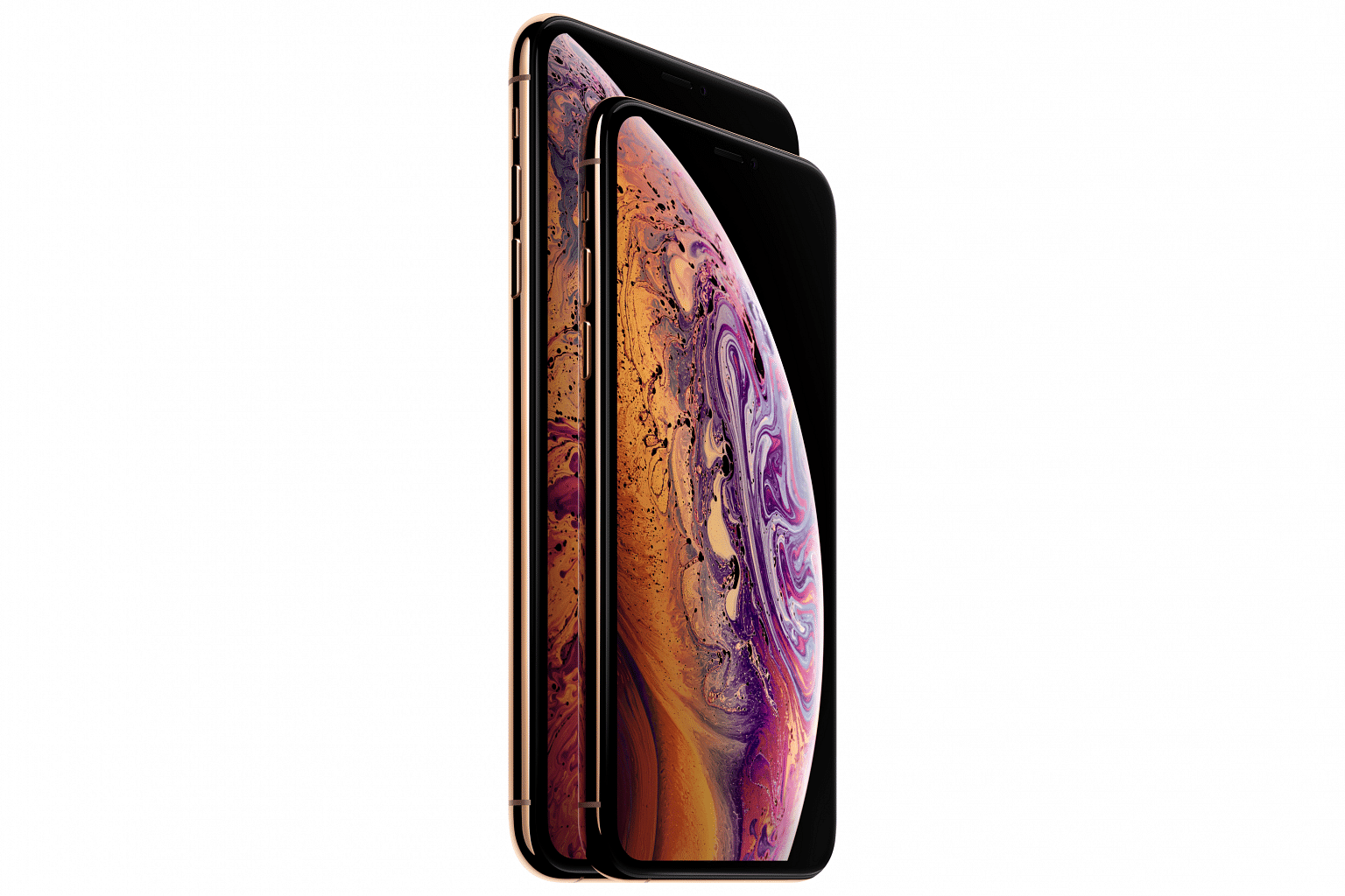The new Apple iPhone XS and XS Max.