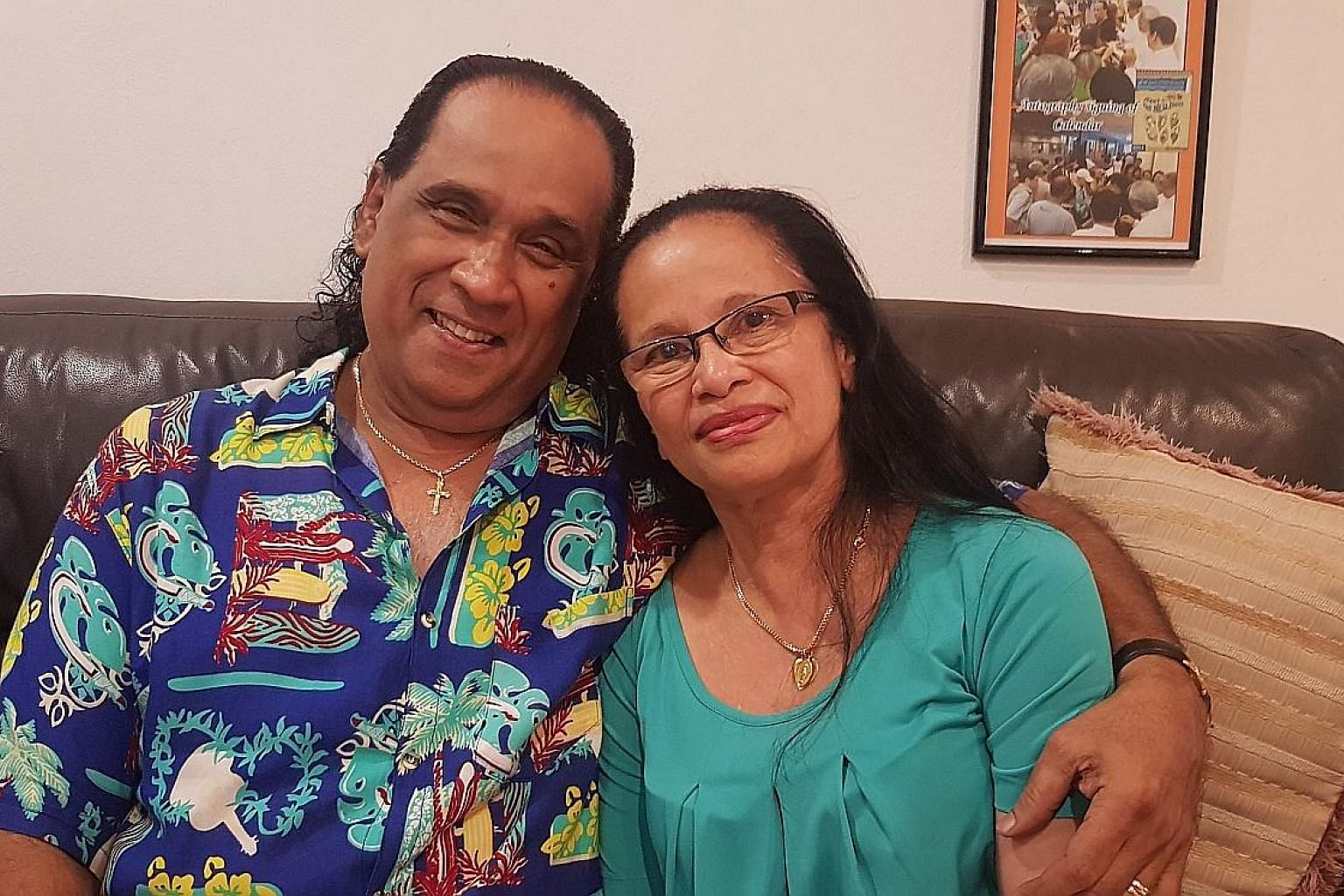 Entertainer Jerry Fernandez, 69, and his wife, Madam Mary Ann Oliveiro, 66, have been married for 39 years. When he did shows abroad, he rang her almost every day.