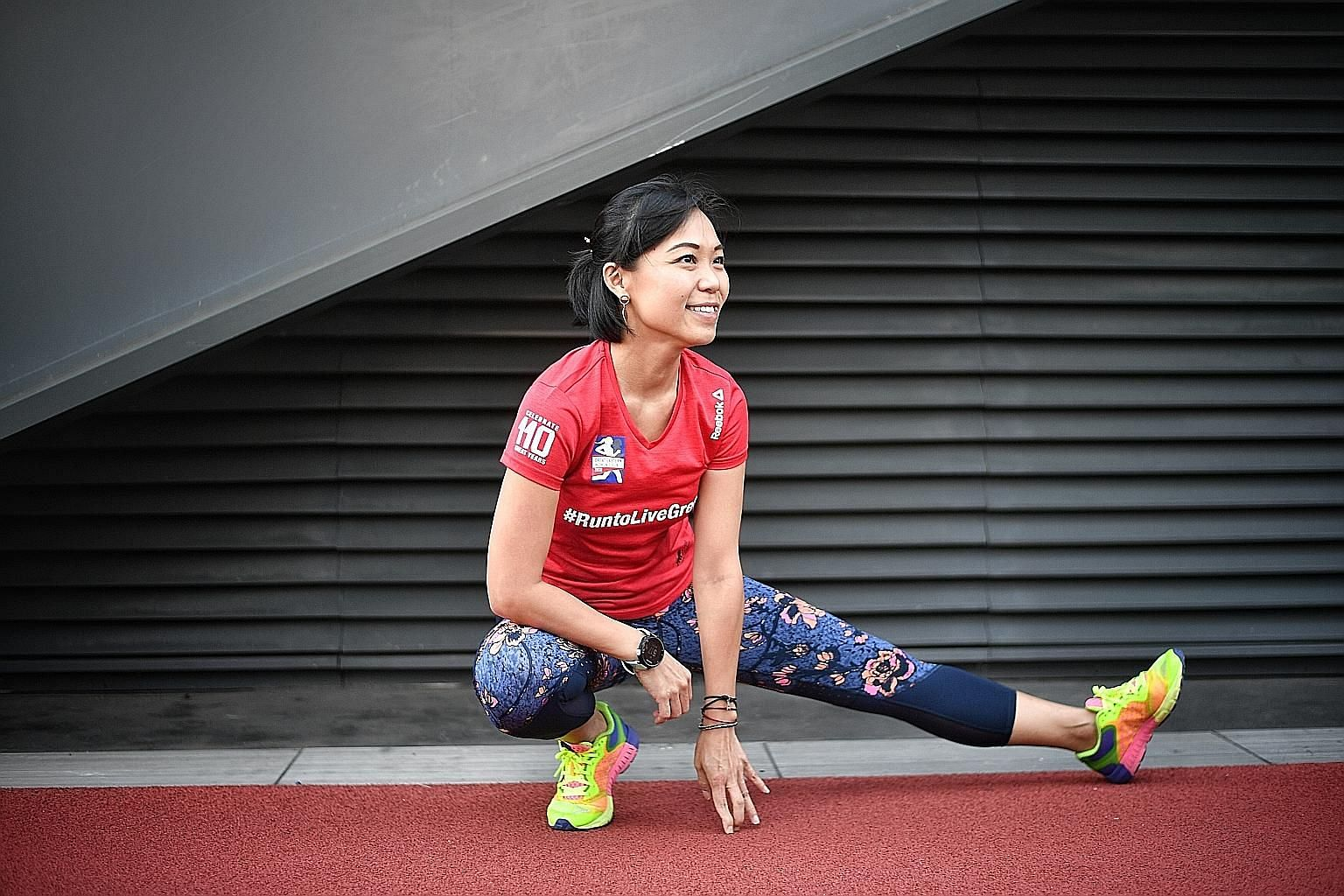 Logistics executive Angela Lim, who was diagnosed with Type 1 diabetes in 2010, said she used to put beauty before health and allowed her condition to worsen. It was only after a medical review last year that she began to embrace a strict fitness rou