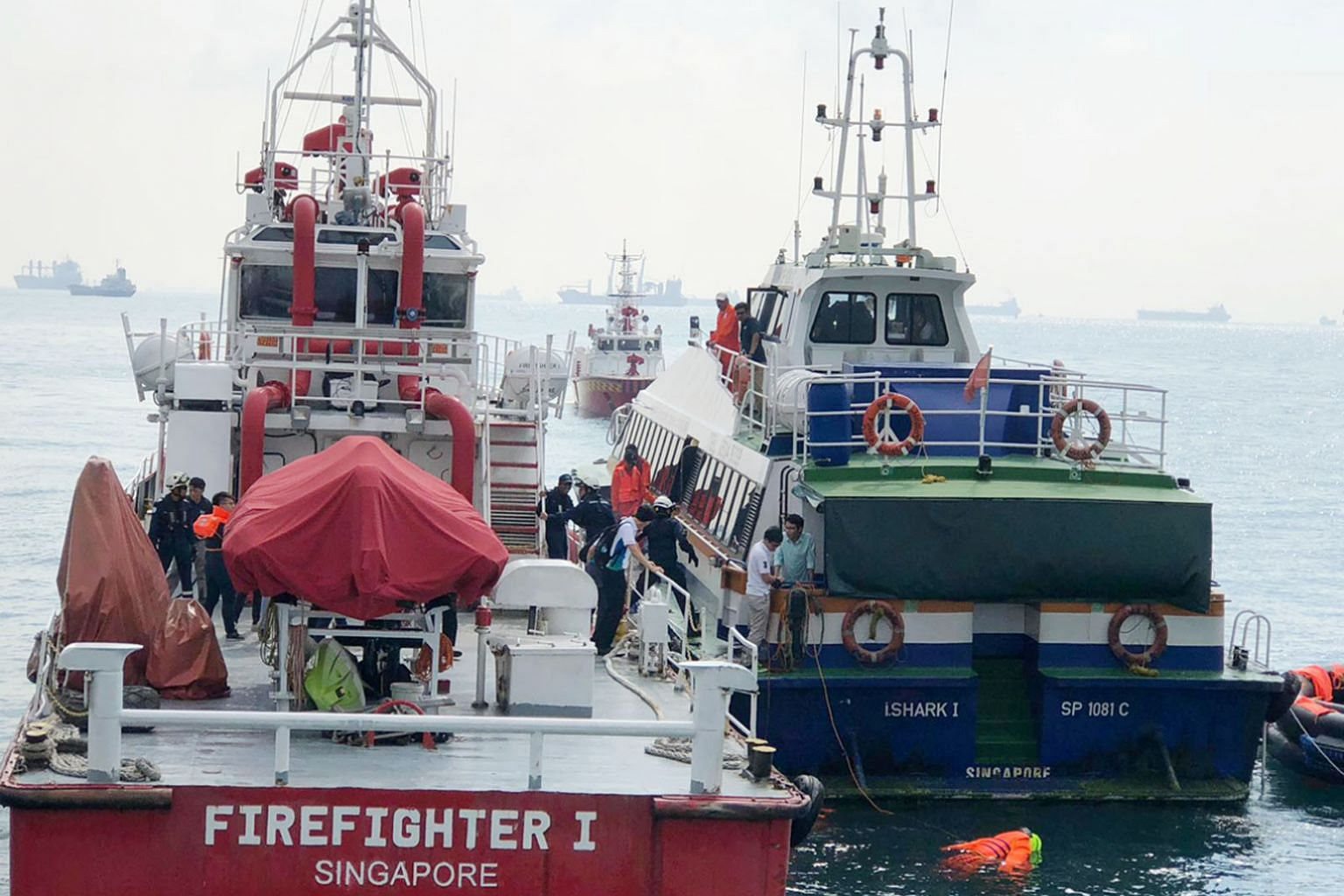 The Maritime and Port Authority of Singapore held an exercise last week to test how Singapore agencies respond to ferry accidents in the port. Singapore is also working with Indonesia to review a joint ferry accident contingency plan.