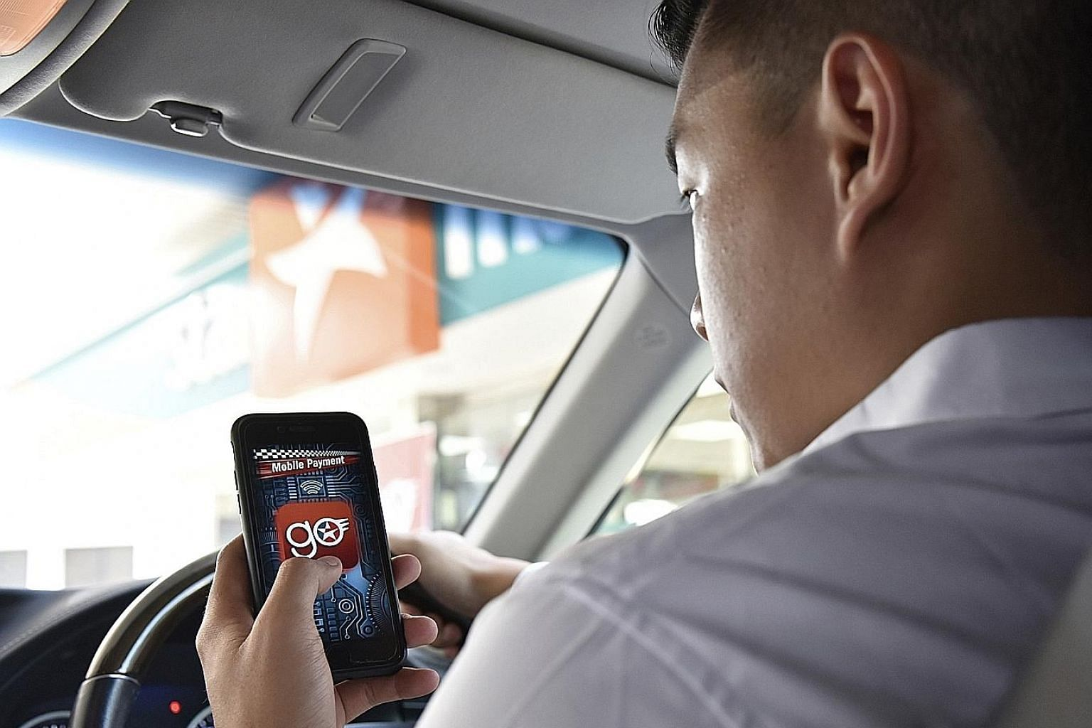 With the CaltexGO app, a driver can pay for fuel in less than 20 seconds. Singapore is the first in the region to have the app.