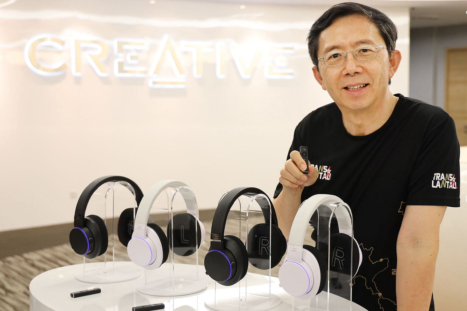 Creative founder and CEO Sim Wong Hoo wants to bring real surround sound to the masses.