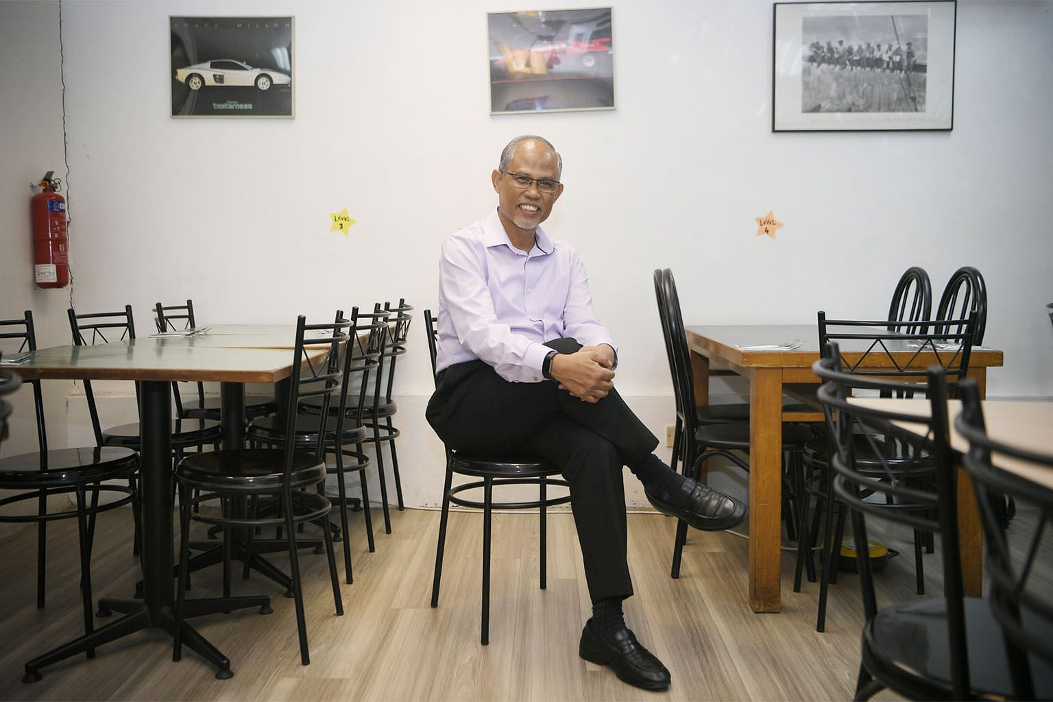 Mr Masagos' father Masagos Mohamad Masagos Omar died of cancer when the minister, then a university student, was 21. Mr Masagos Zulkifli says his working style is not to micro-manage. Instead, he sets the broad picture and states what needs to be don