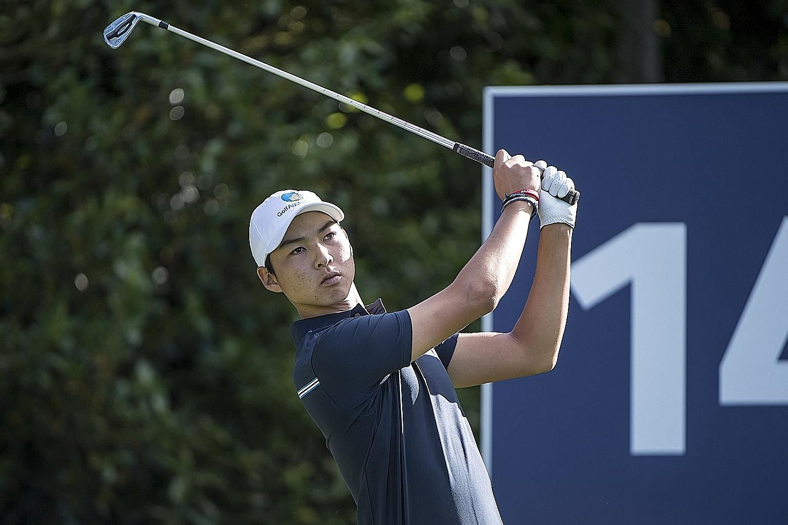 Australia's Lee Min-woo, the younger brother of LPGA star Min-jee, is hoping to win this year's Asia-Pacific Amateur Championship to earn a spot at the Masters and The Open next year.