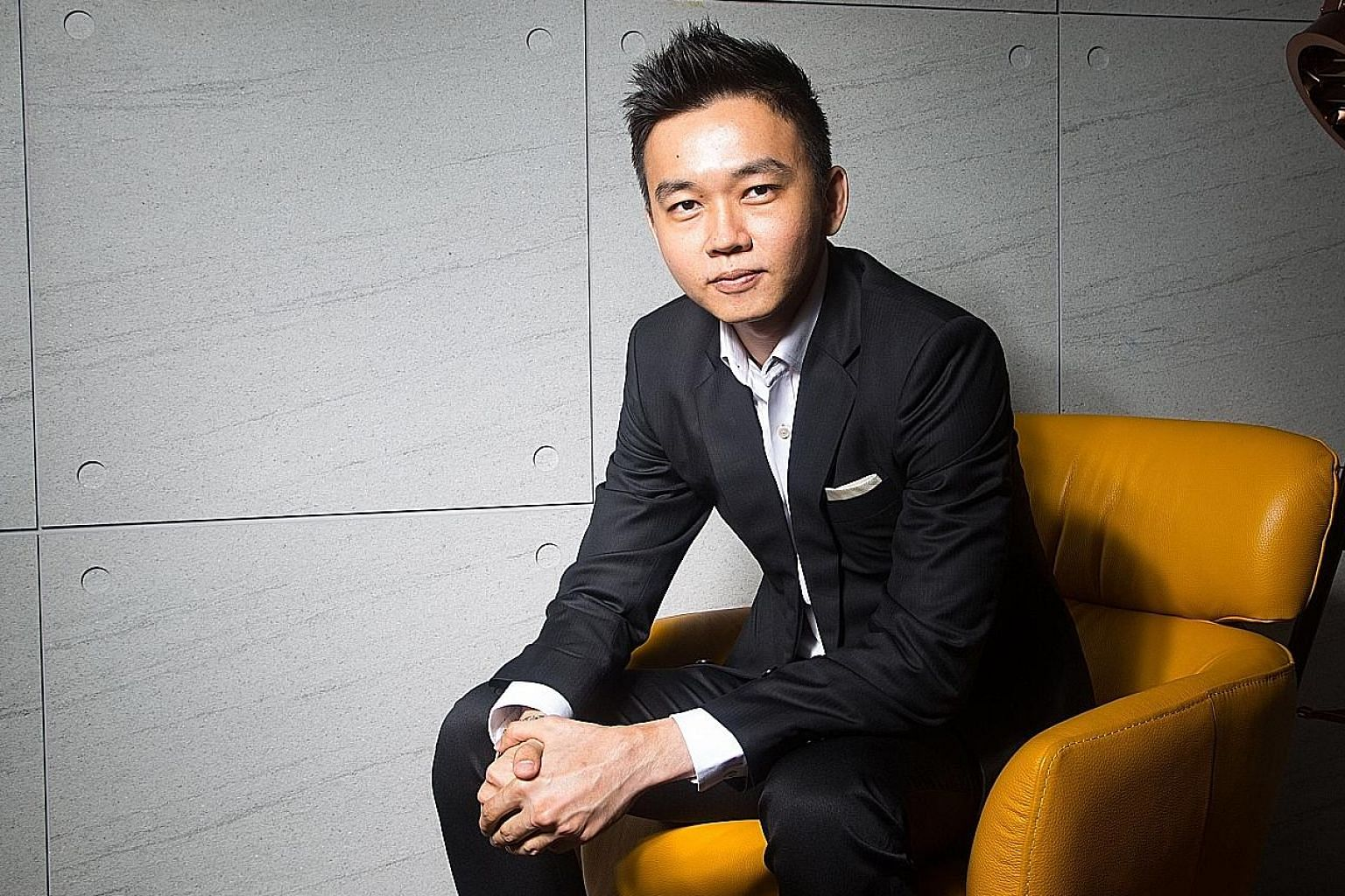 Mr Eddie Lee, group chief executive of crowdfunding platform SeedIn Technology, says it is important for investors to research the background of crowdfunding platforms, start small and diversify the investment.