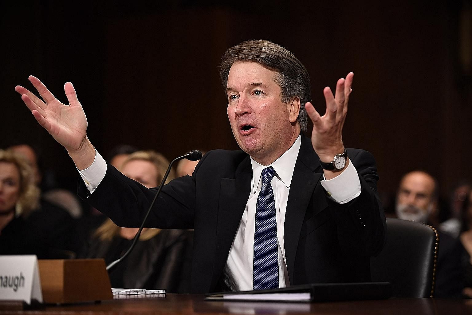 Judge Brett Kavanaugh was accused by research psychologist Christine Blasey Ford of sexually assaulting her in the 1980s.
