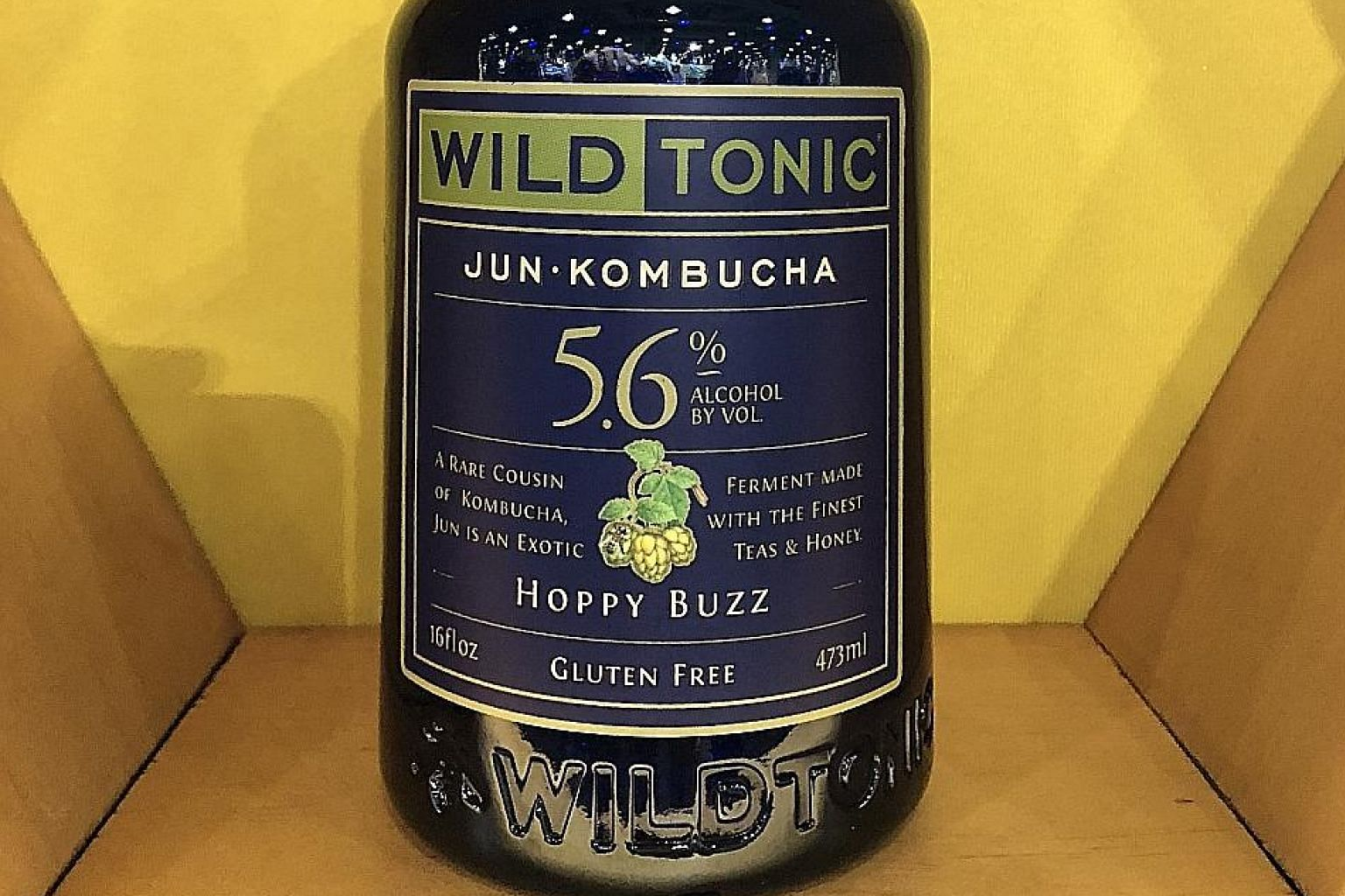 A new kombucha product at New York's Fancy Foods Show earlier this year.