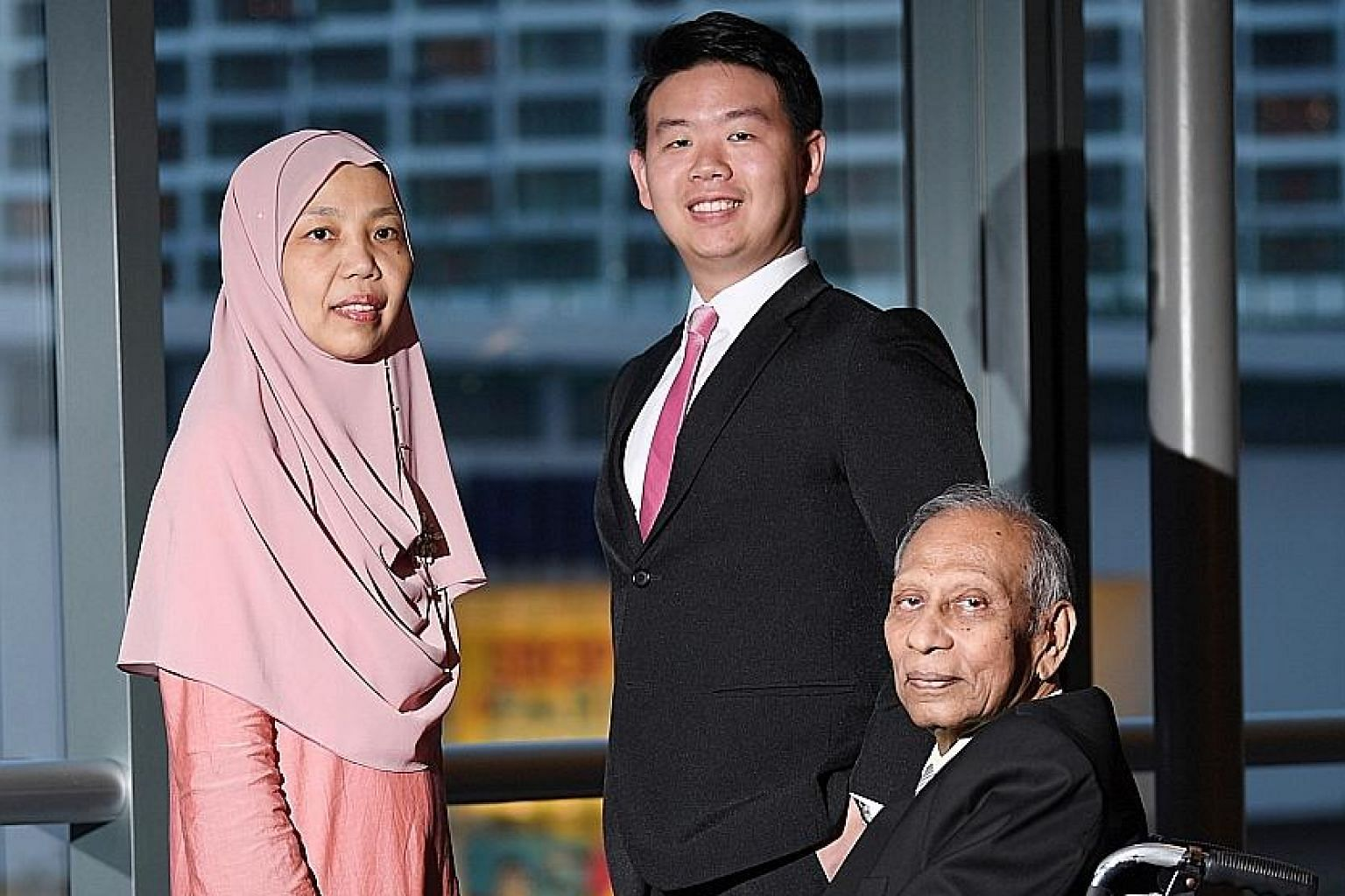 Madam Kamaria Djorimi, Mr Benjamin Chua and Mr G. Anthony Samy are among some 150 volunteer mediators with the Community Mediation Centre, which handles about 500 disputes each year.