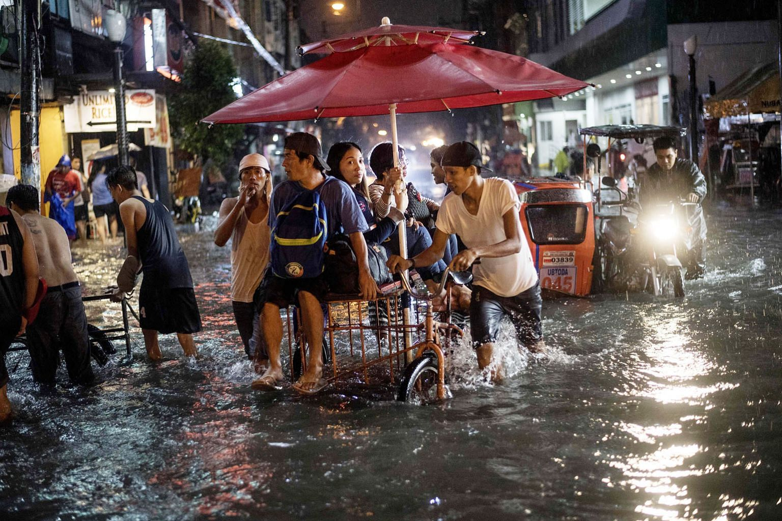 Tropical storm Yagi brought a heavy downpour to Manila, the Philippines, in August that led to extensive flooding in the city. Climate change will make food production in the region more difficult and increase production costs. China is one of the to