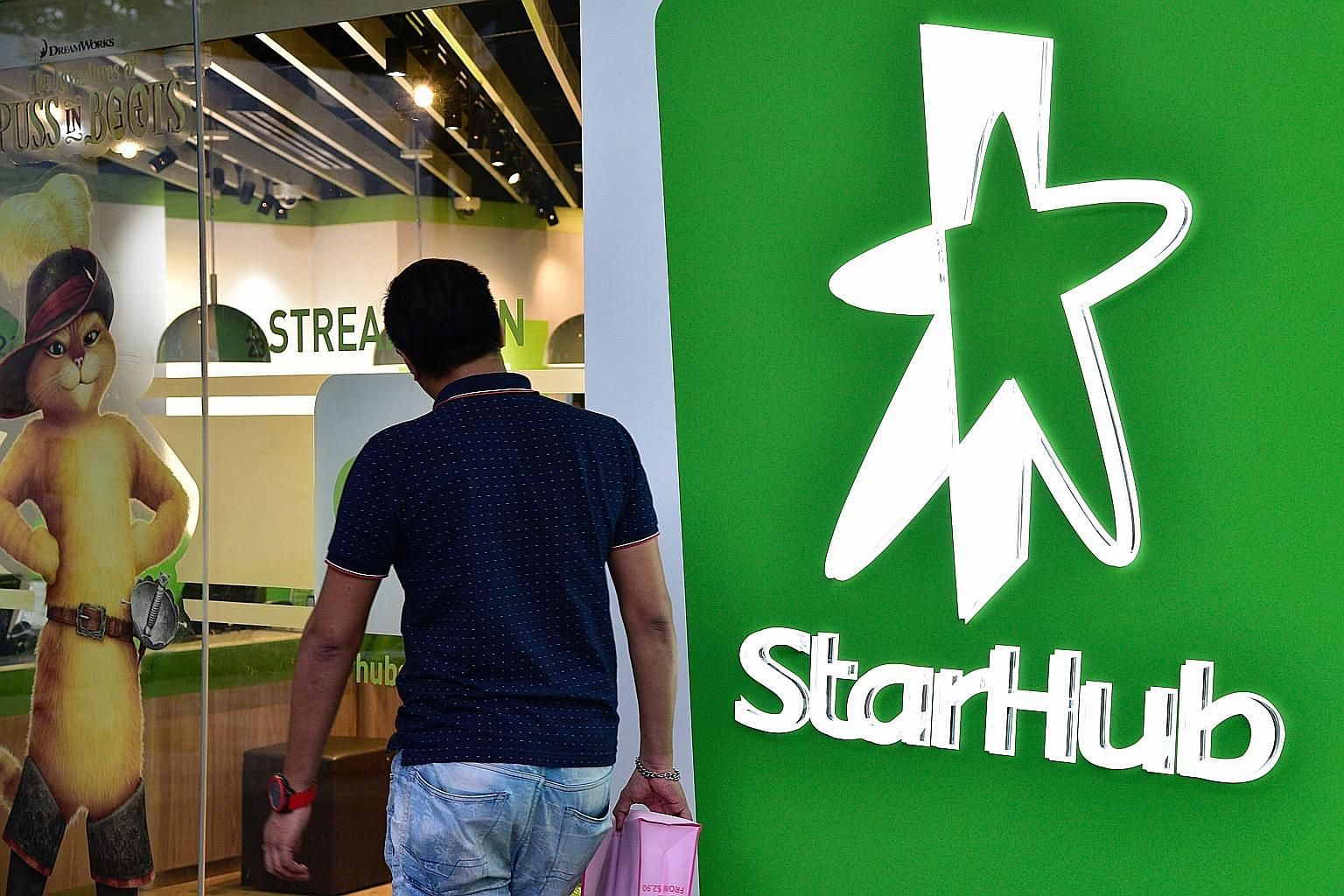 StarHub's enterprise, or corporate services, business has been growing by about 20 per cent a year and will probably make up more than half of total revenue within two years, said chief executive officer Peter Kaliaropoulos.