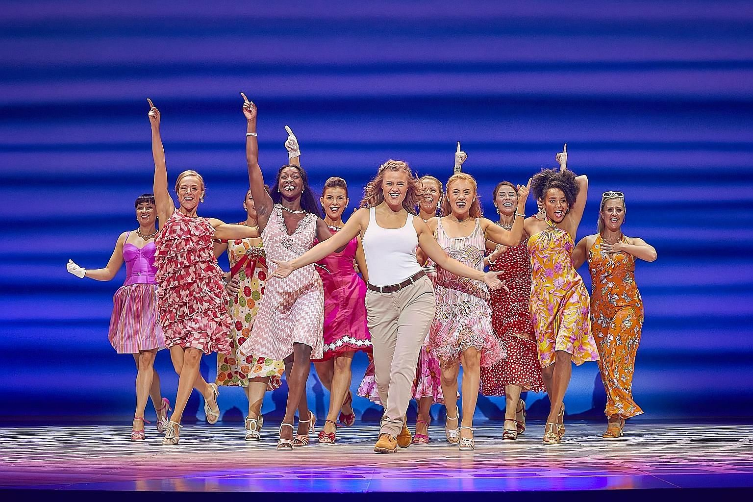 The musical Mamma Mia! returns for a run at the Sands Theatre from Nov 3 to 18.