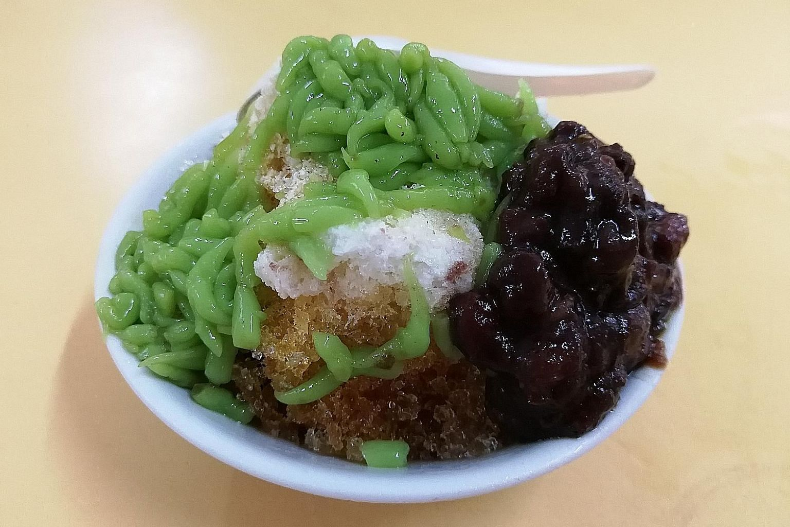 Old Amoy's chendol has gula melaka sourced from East Malaysia and red beans slow-cooked over charcoal.