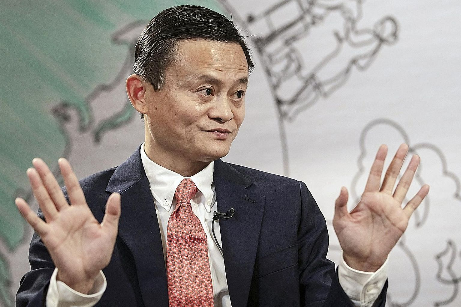 Alibaba's Jack Ma was down US$4 billion (S$5.5 billion) compared to a year ago, but returned to the top of the list for the first time since 2014 with a net worth of US$34.6 billion.